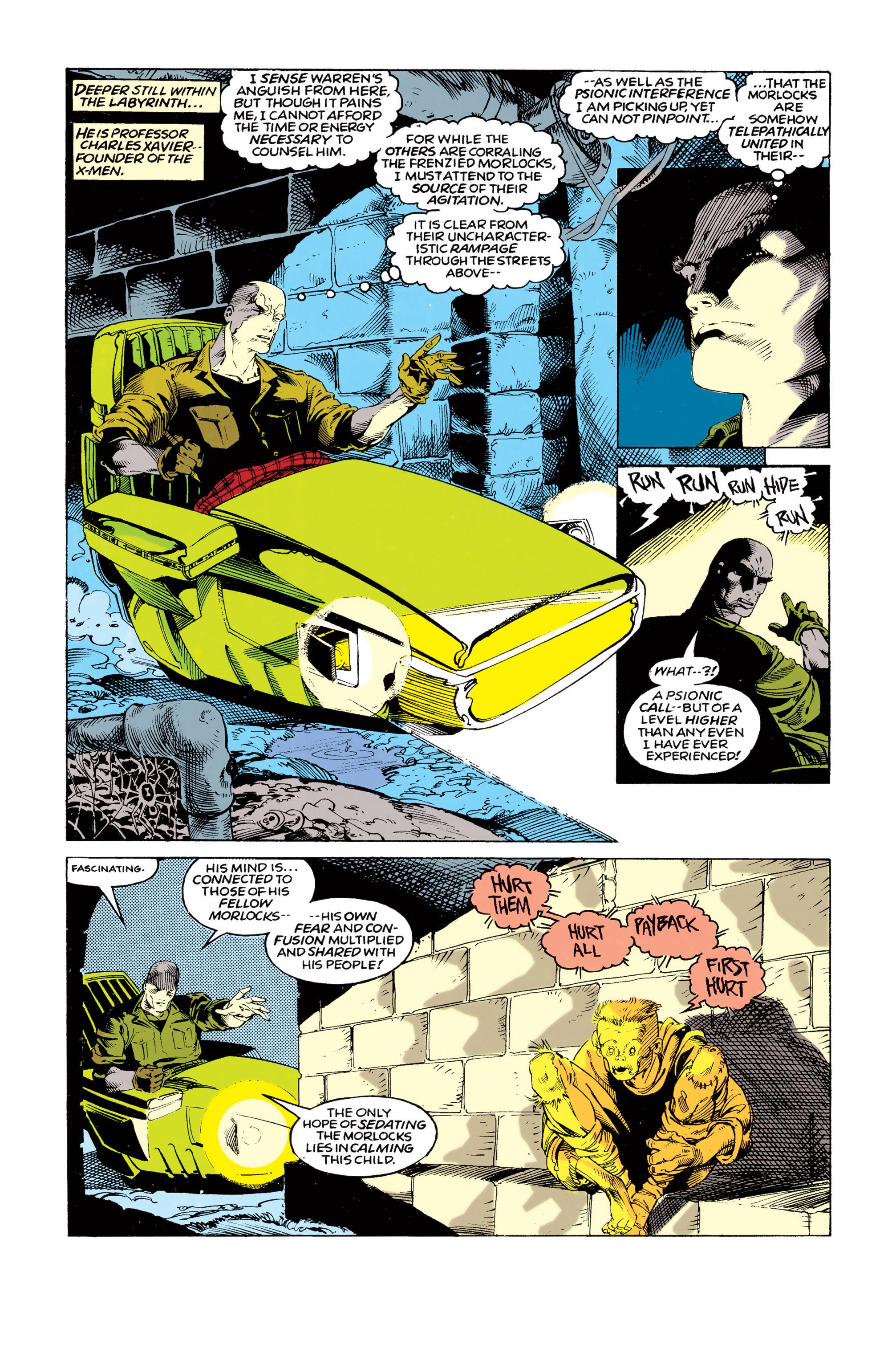 Read online Uncanny X-Men (1963) comic -  Issue #292 - 8