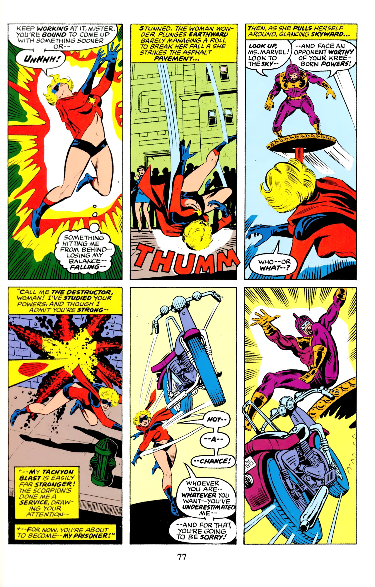 Read online Giant-Size Ms. Marvel comic -  Issue # Full - 71