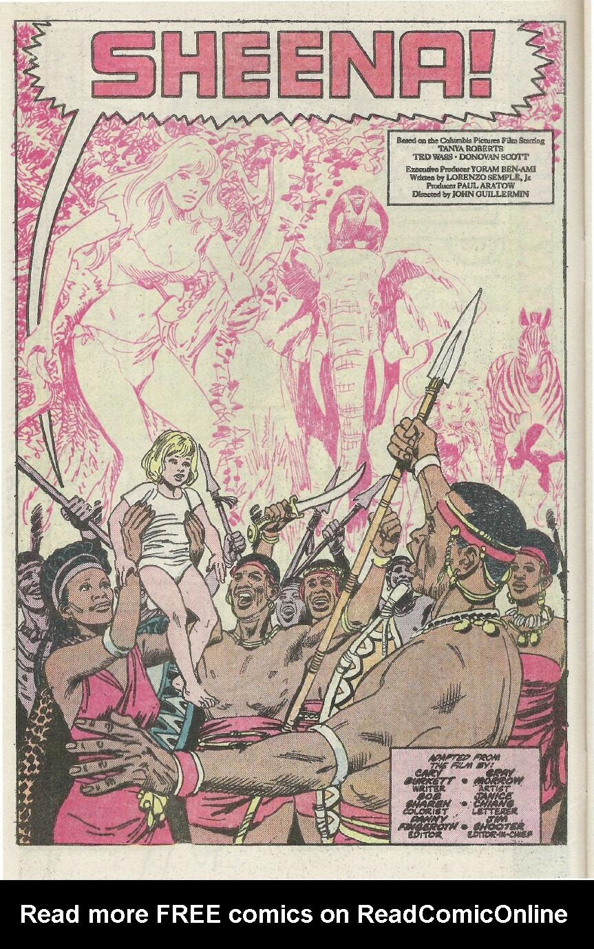 Read online Sheena comic -  Issue #1 - 6