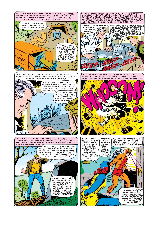 Read online Uncanny X-Men (1963) comic -  Issue #19 - 17