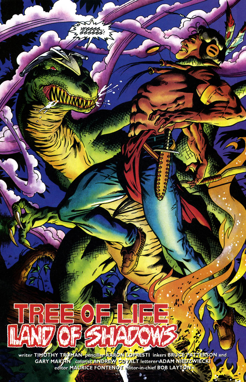 Read online Turok, Dinosaur Hunter (1993) comic -  Issue #36 - 4