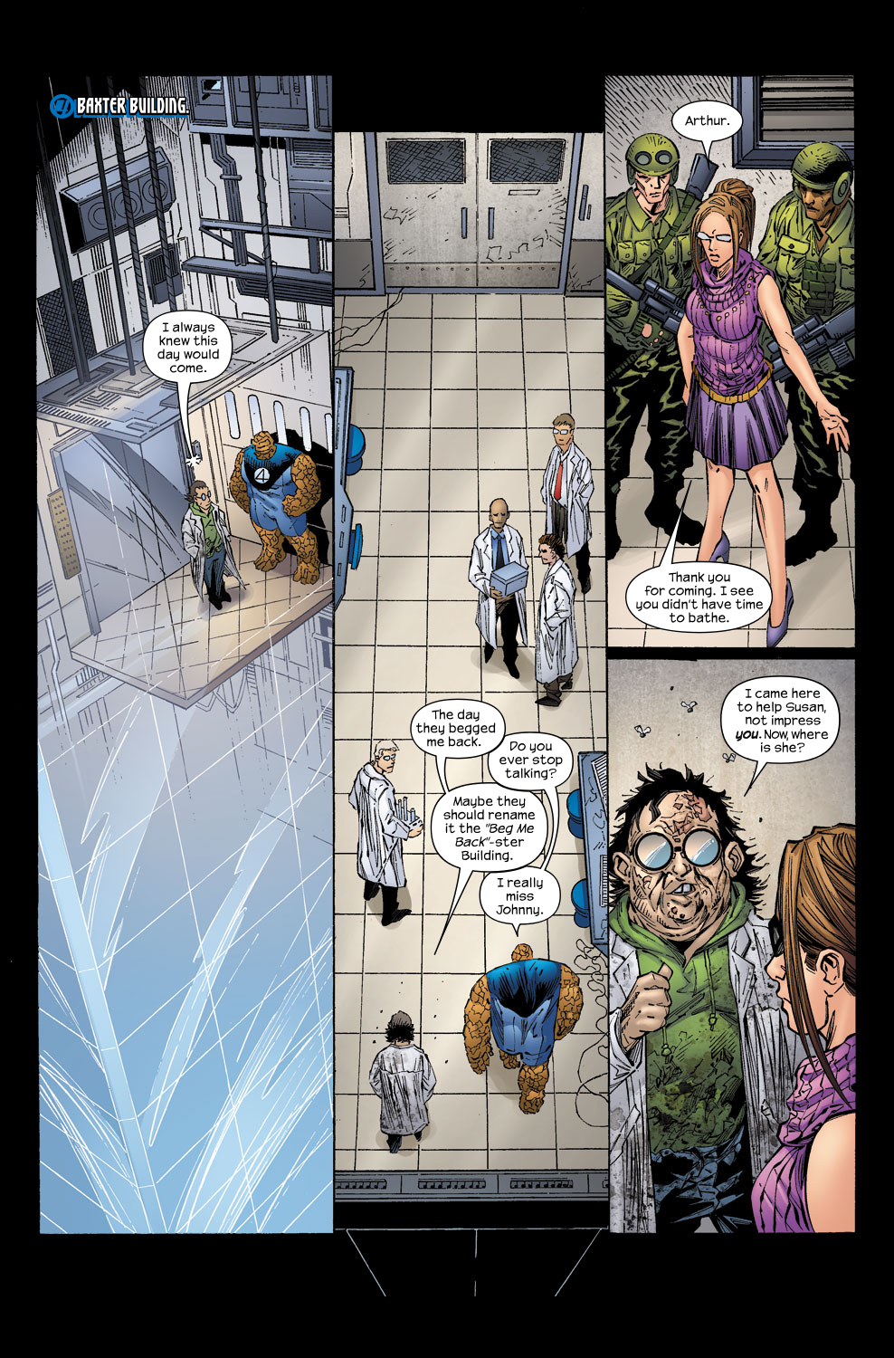 Read online Ultimate Fantastic Four (2004) comic -  Issue #58 - 22