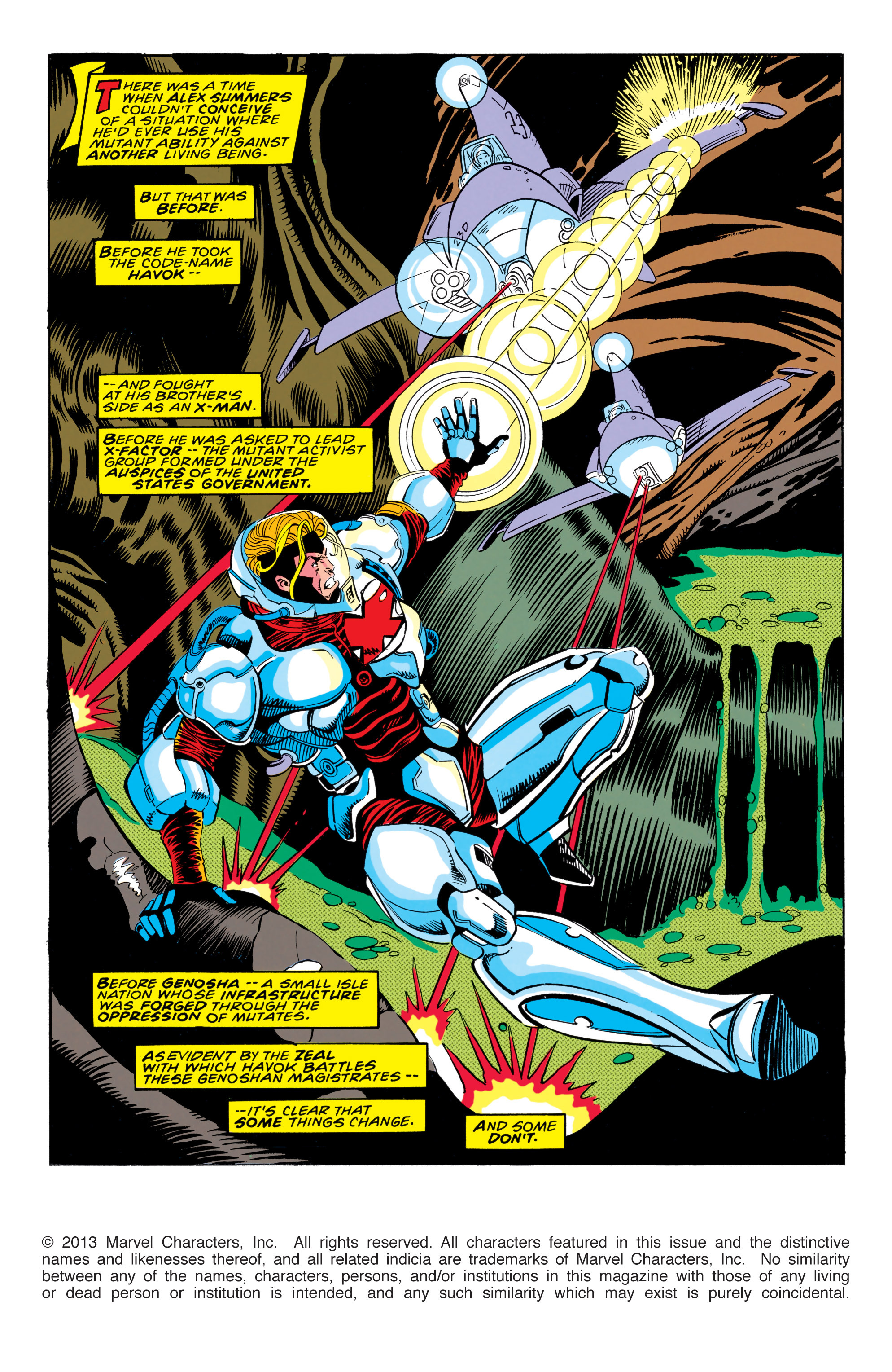 Read online X-Factor (1986) comic -  Issue #91 - 2