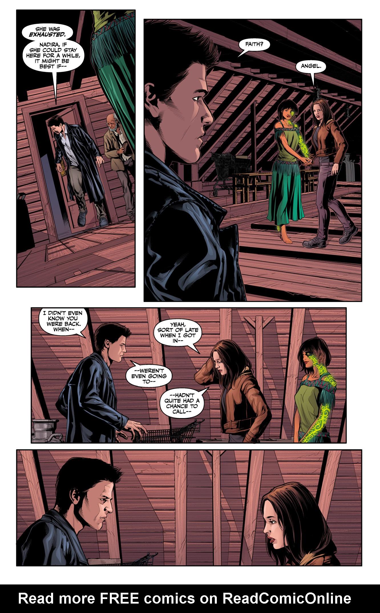 Read online Angel & Faith Season 10 comic -  Issue #11 - 22