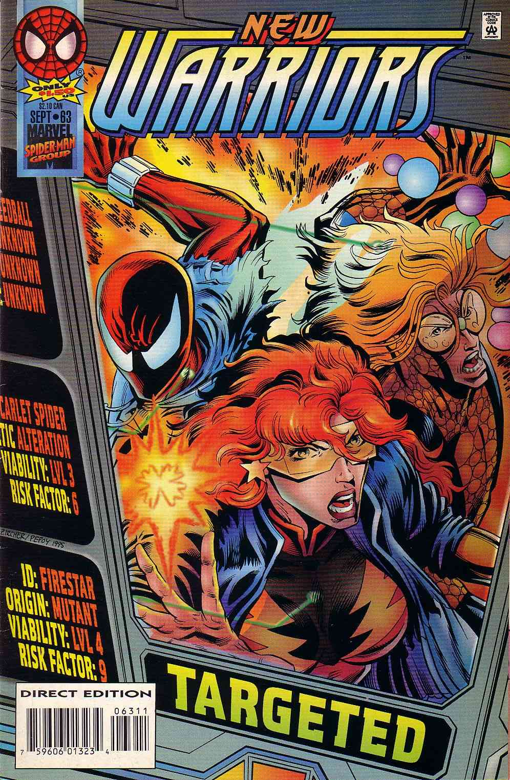 The New Warriors Issue #63 #67 - English 1