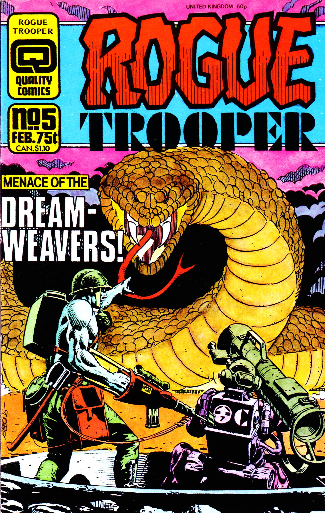 Rogue Trooper (1986) 5 Page 1