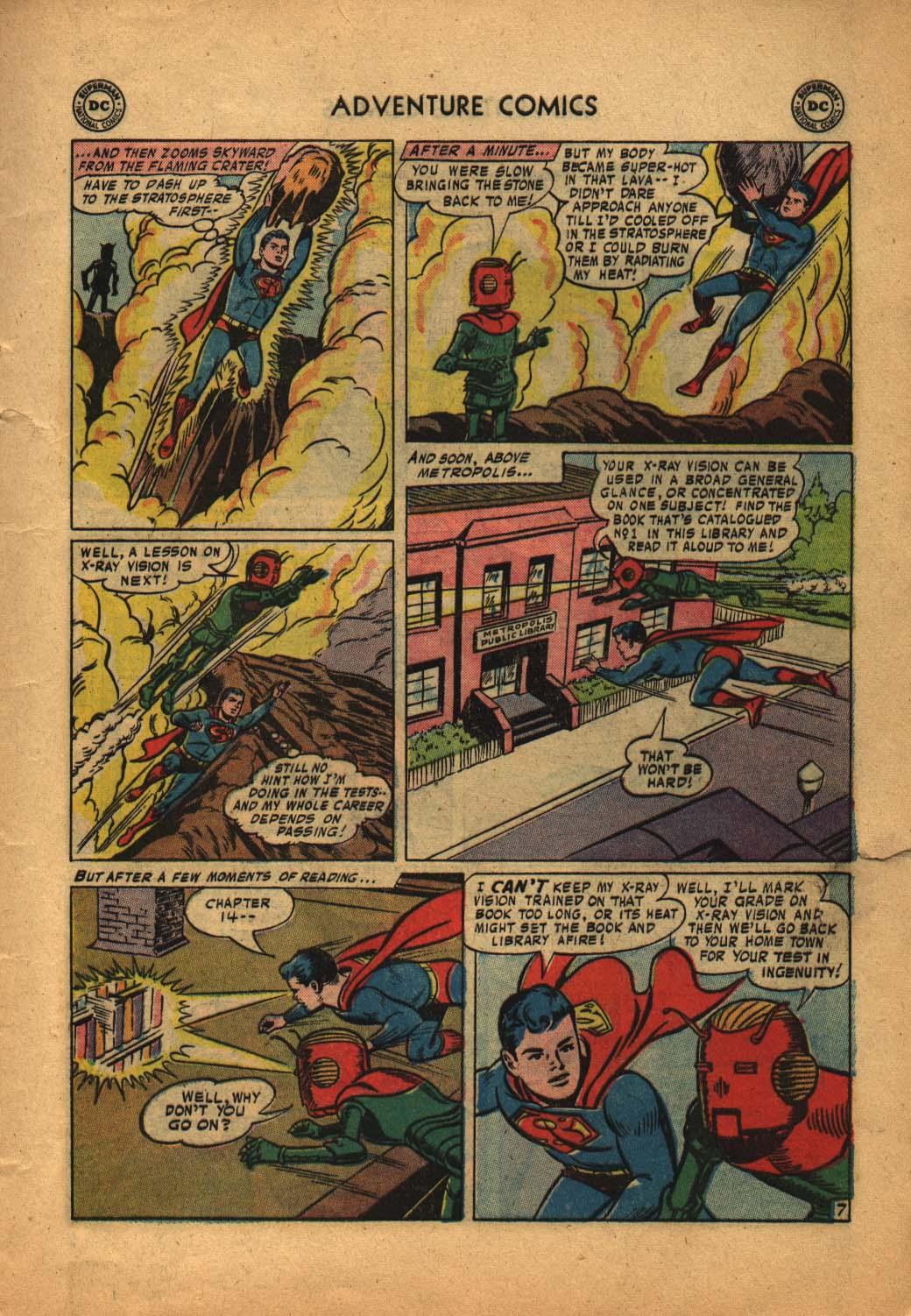 Read online Adventure Comics (1938) comic -  Issue #240 - 9