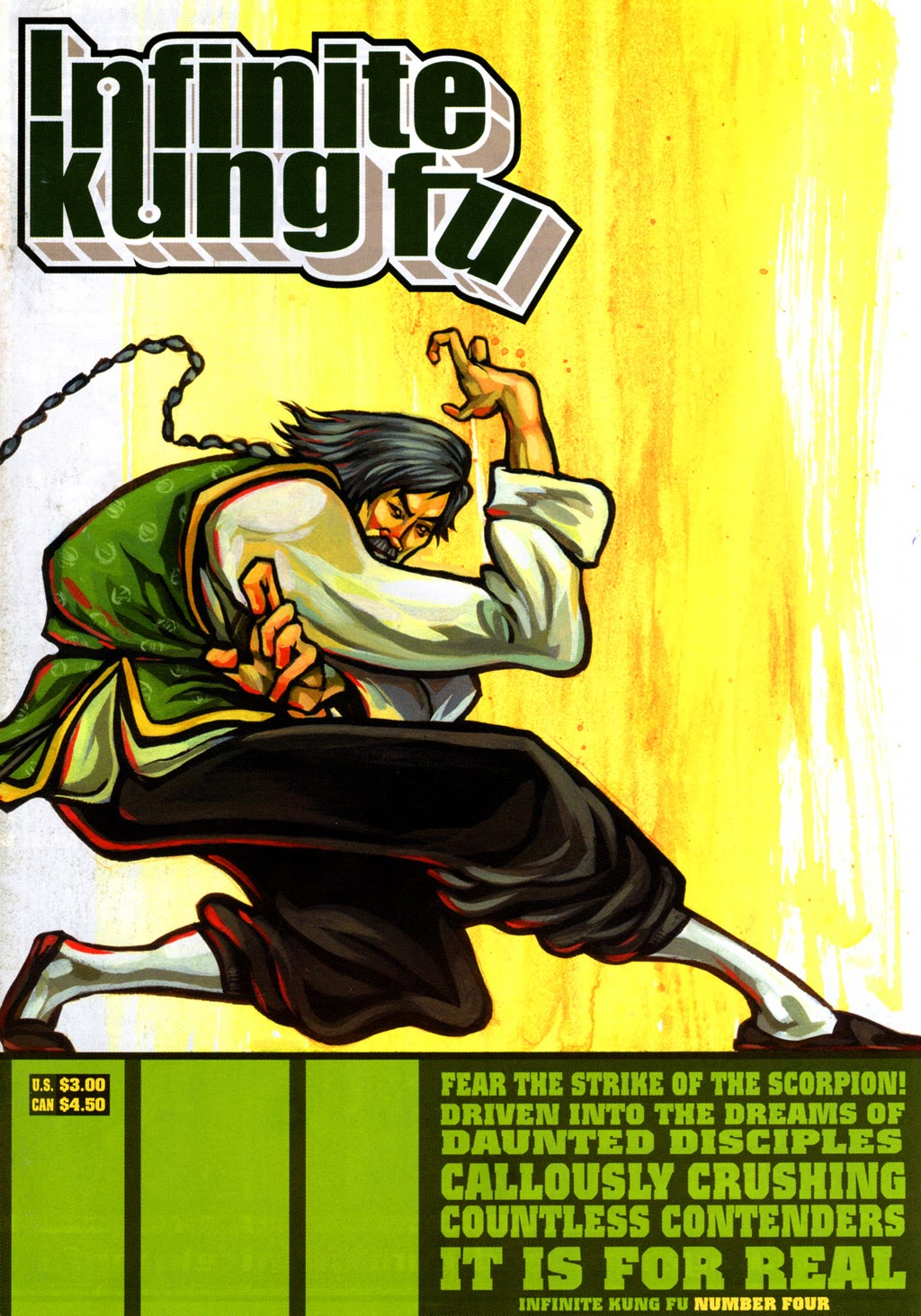 Infinite Kung Fu issue 4 - Page 1