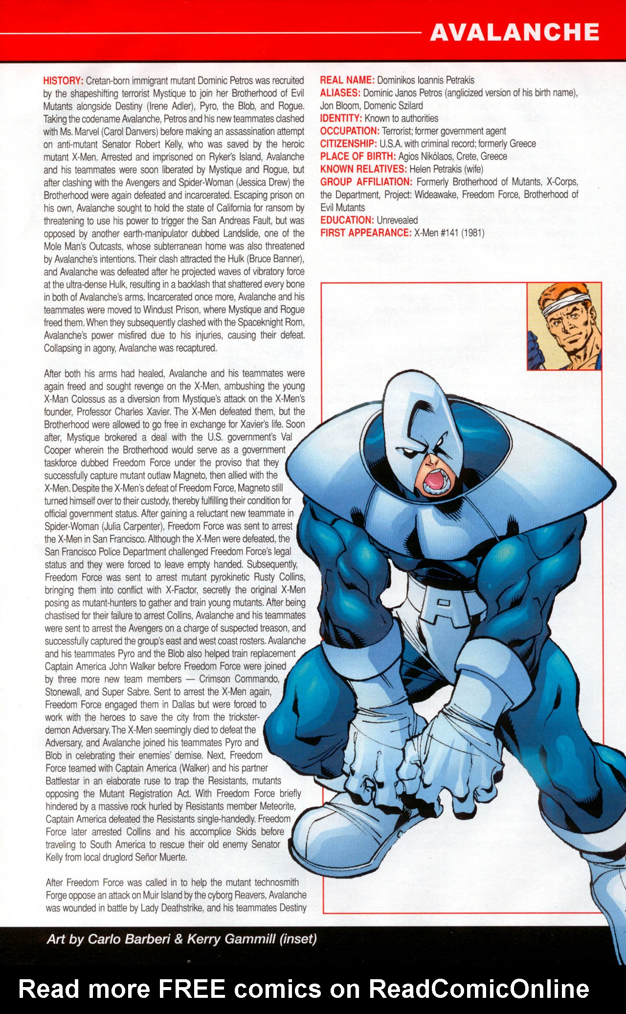 Read online All-New Official Handbook of the Marvel Universe A to Z: Update comic -  Issue #2 - 9