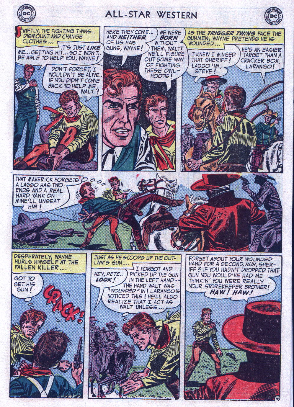 Read online All-Star Western (1951) comic -  Issue #74 - 7