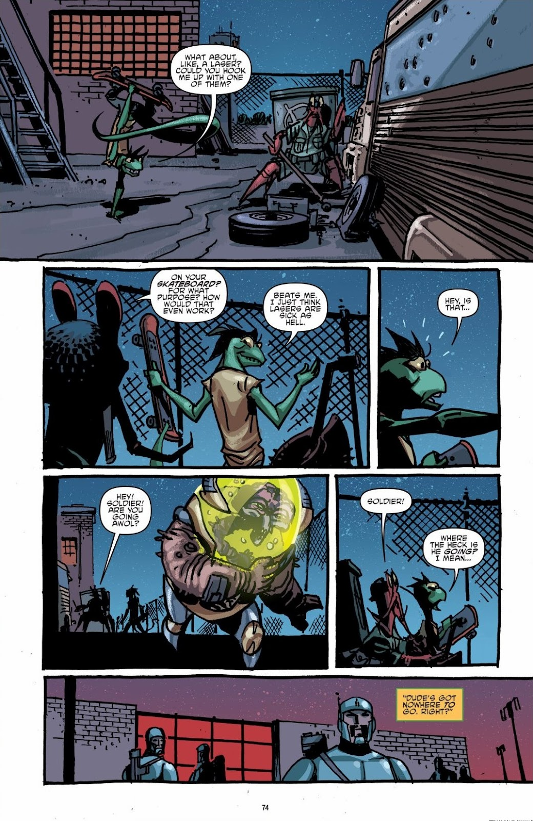 Read online Teenage Mutant Ninja Turtles: The IDW Collection comic -  Issue # TPB 6 (Part 1) - 73