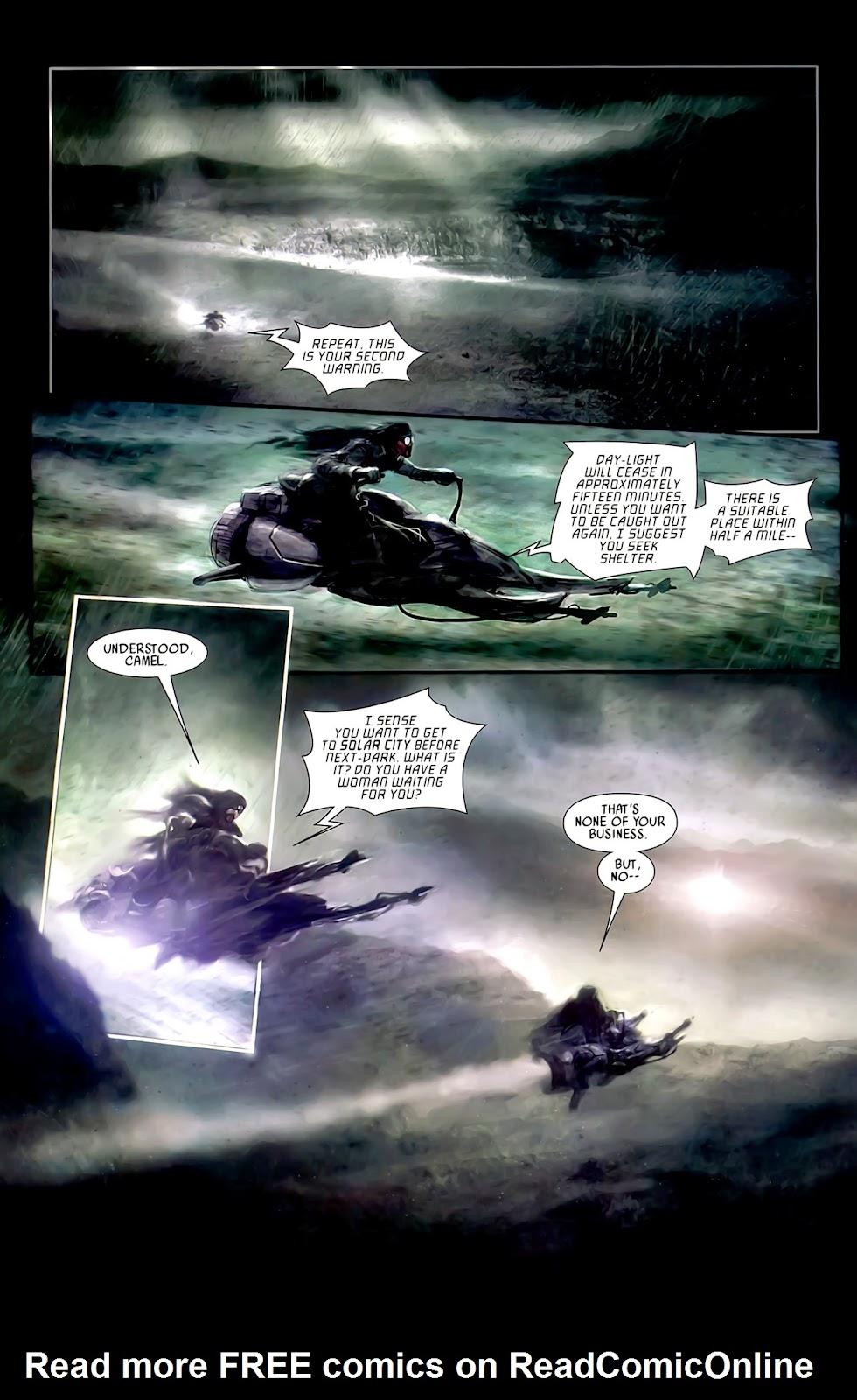 Read online After Dark comic -  Issue #0 - 8
