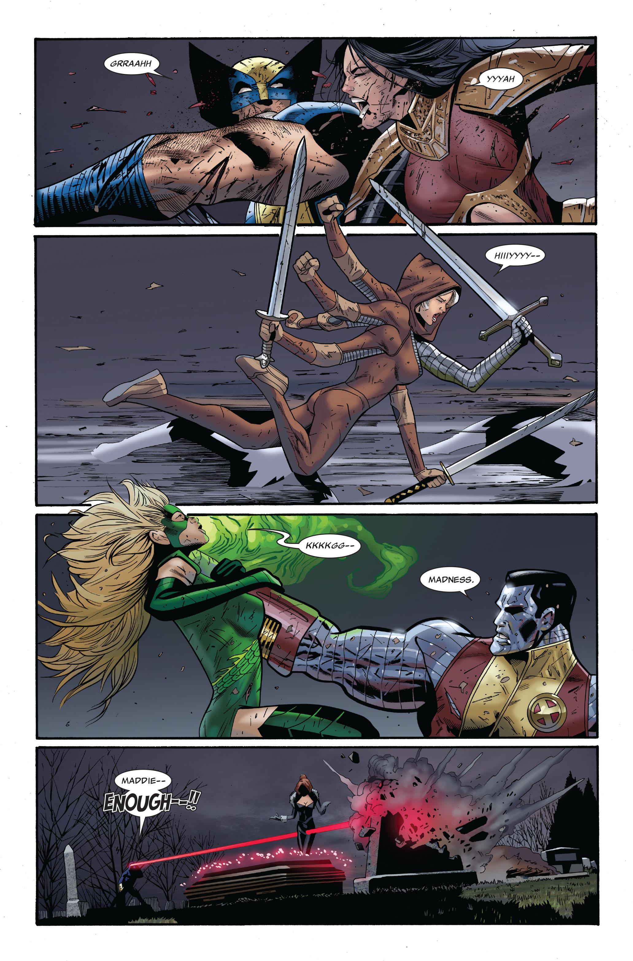 Read online Uncanny X-Men (1963) comic -  Issue #511 - 18