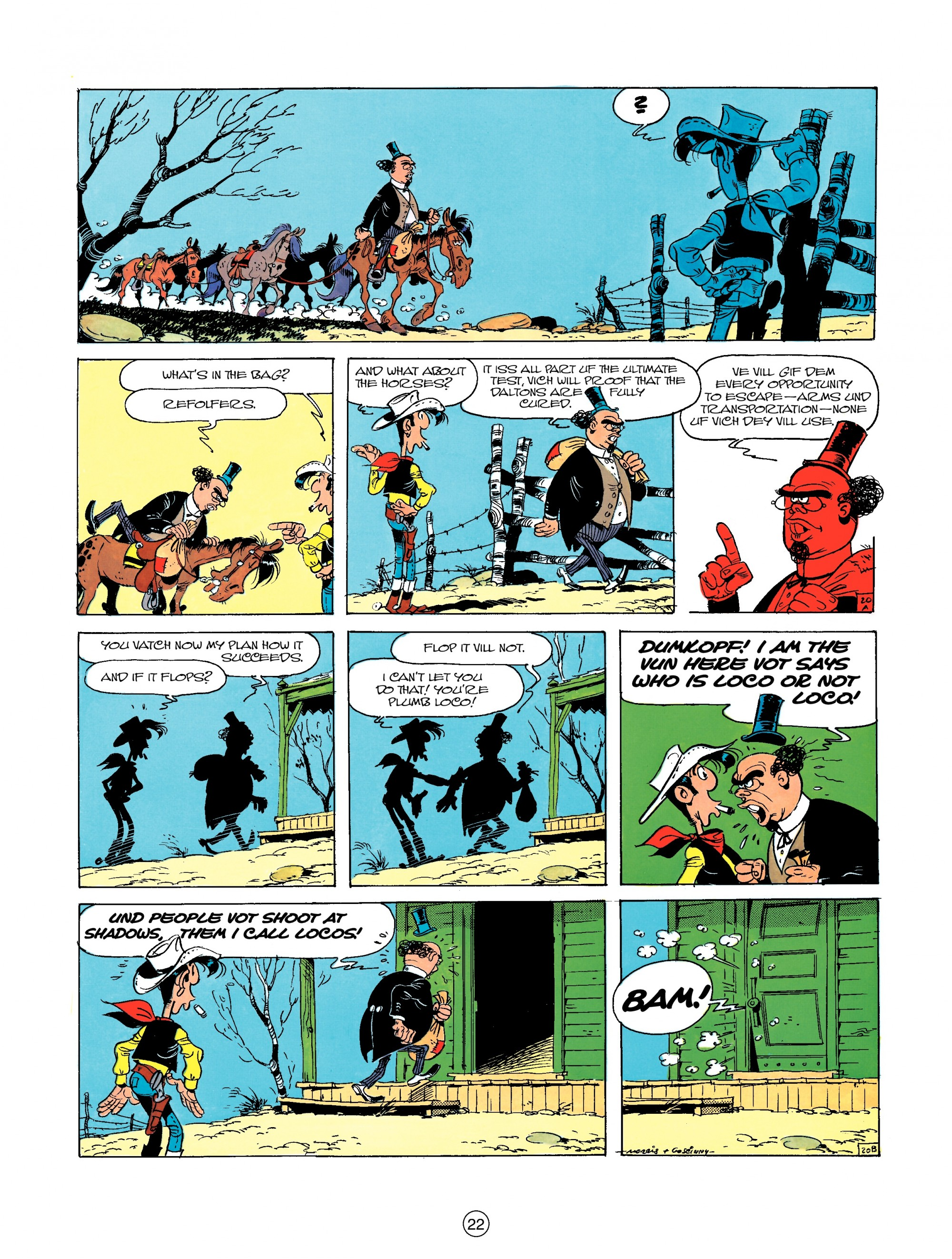 Read online A Lucky Luke Adventure comic -  Issue #23 - 22