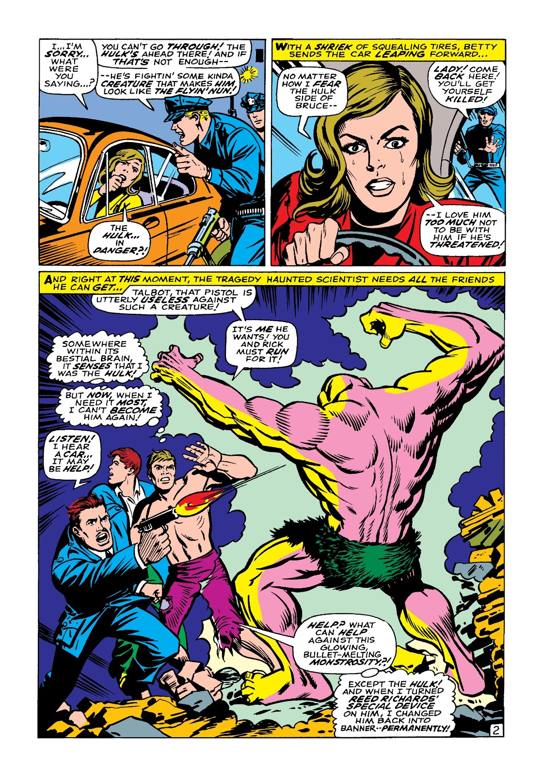 Read online Marvel Masterworks: The Incredible Hulk comic -  Issue # TPB 4 (Part 1) - 72