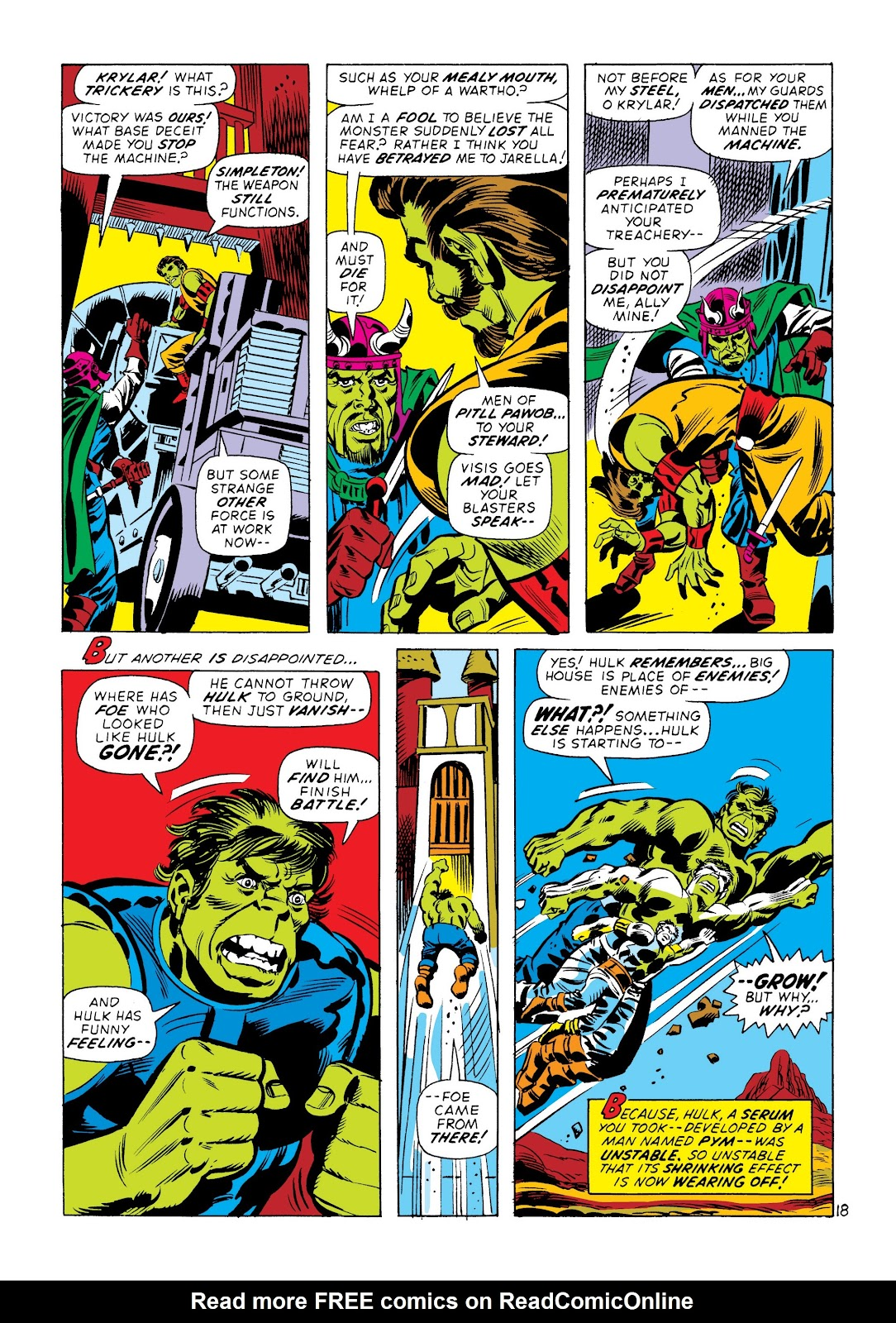 Read online Marvel Masterworks: The Incredible Hulk comic -  Issue # TPB 8 (Part 3) - 79