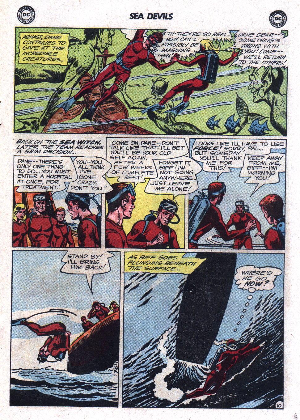 Read online Sea Devils comic -  Issue #17 - 15