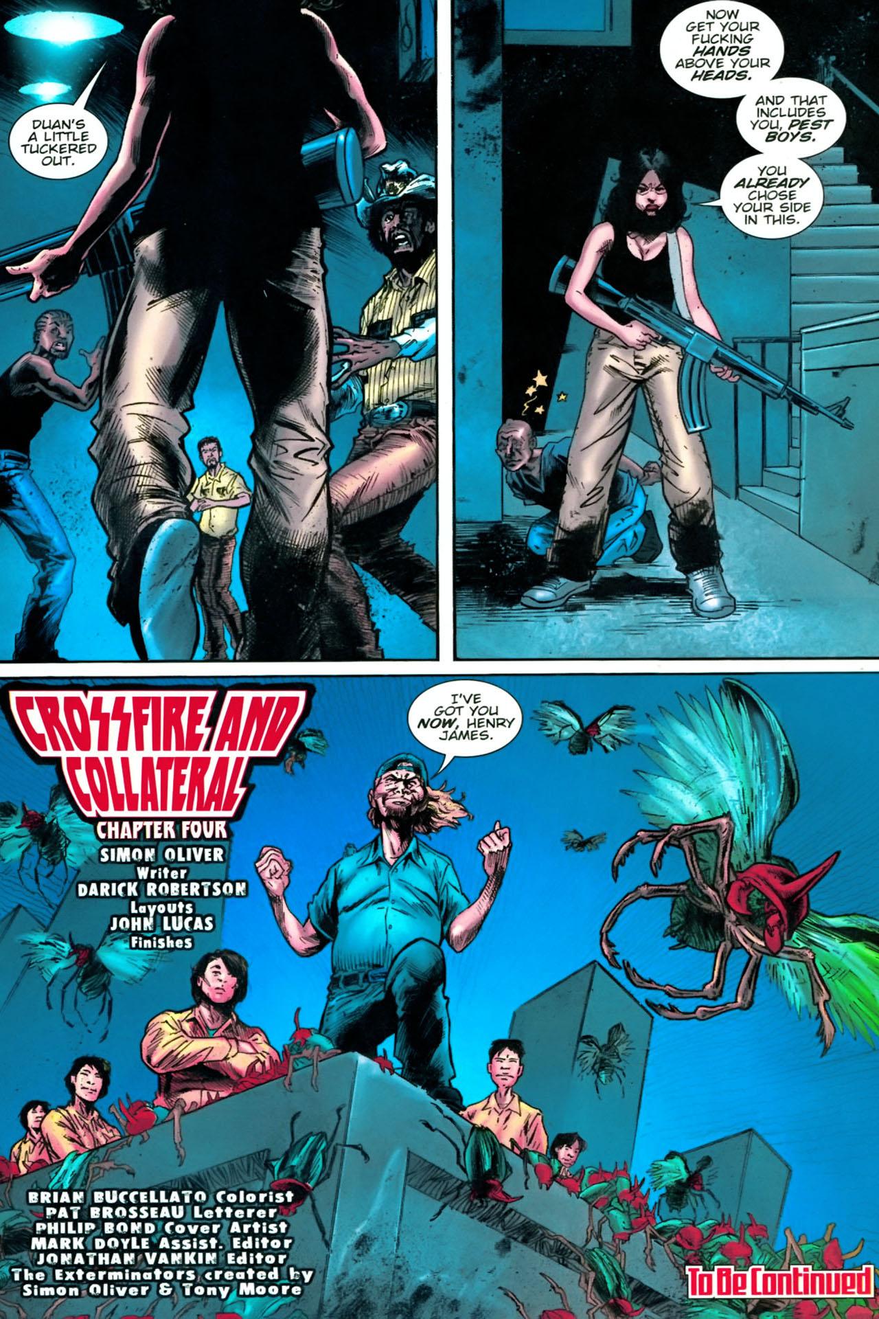 Read online The Exterminators comic -  Issue #22 - 23
