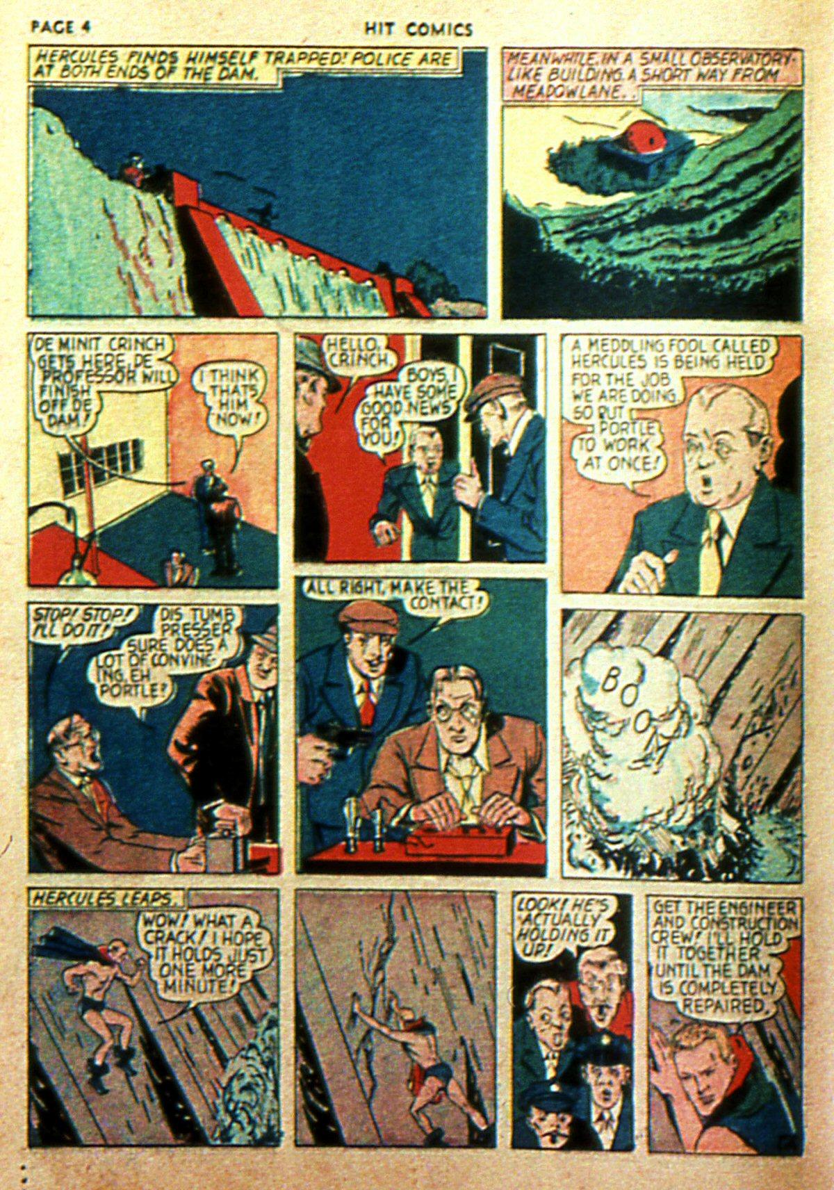 Read online Hit Comics comic -  Issue #2 - 6