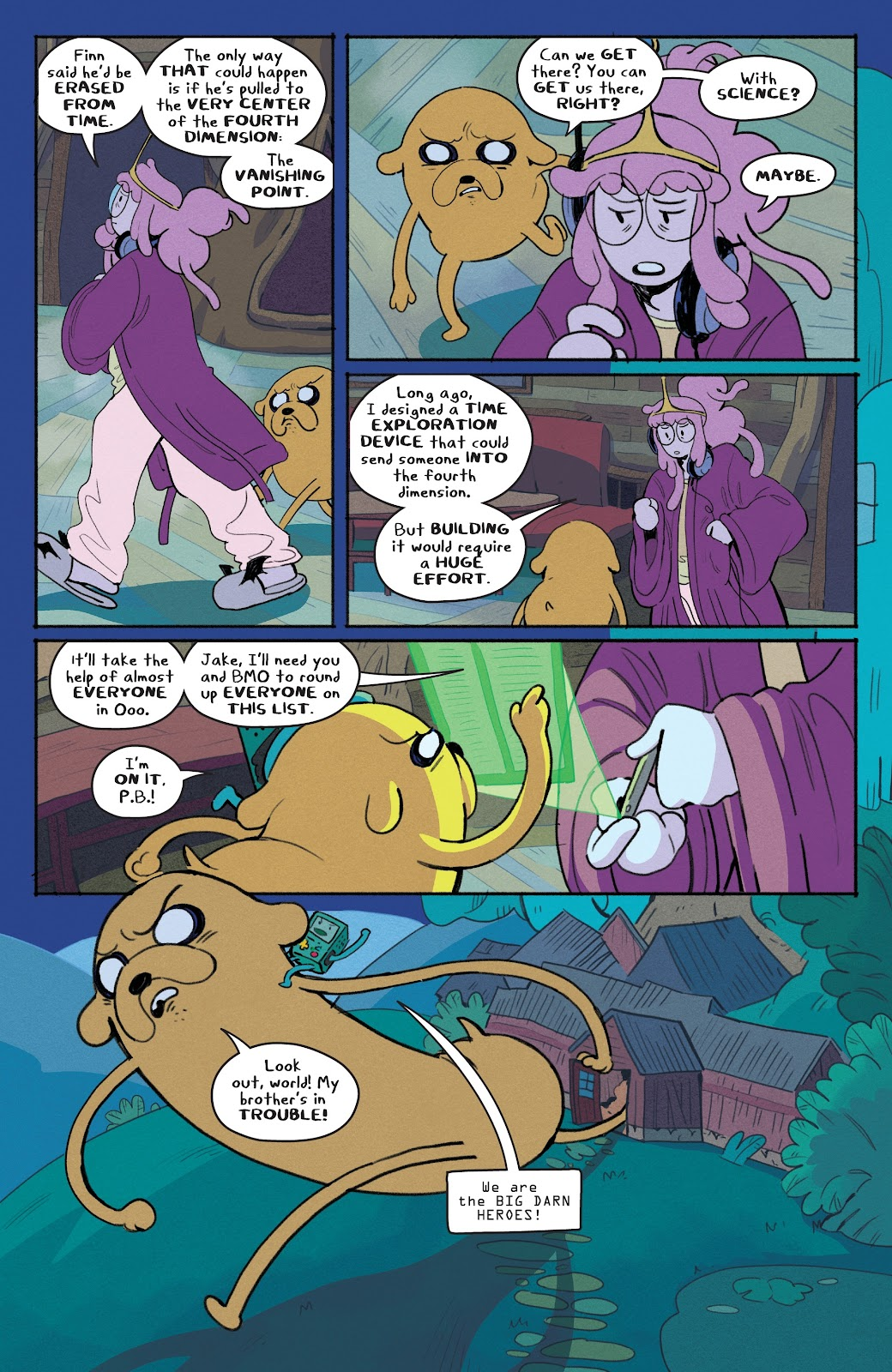 Read online Adventure Time: Beginning of the End comic -  Issue # _TPB - 30