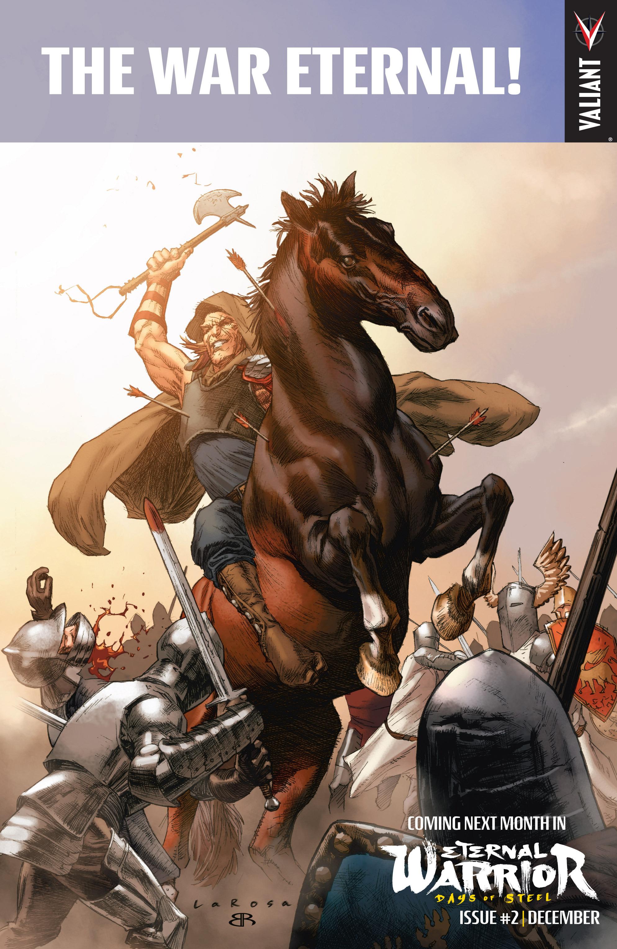 Read online Eternal Warrior: Days of Steel comic -  Issue #1 - 24