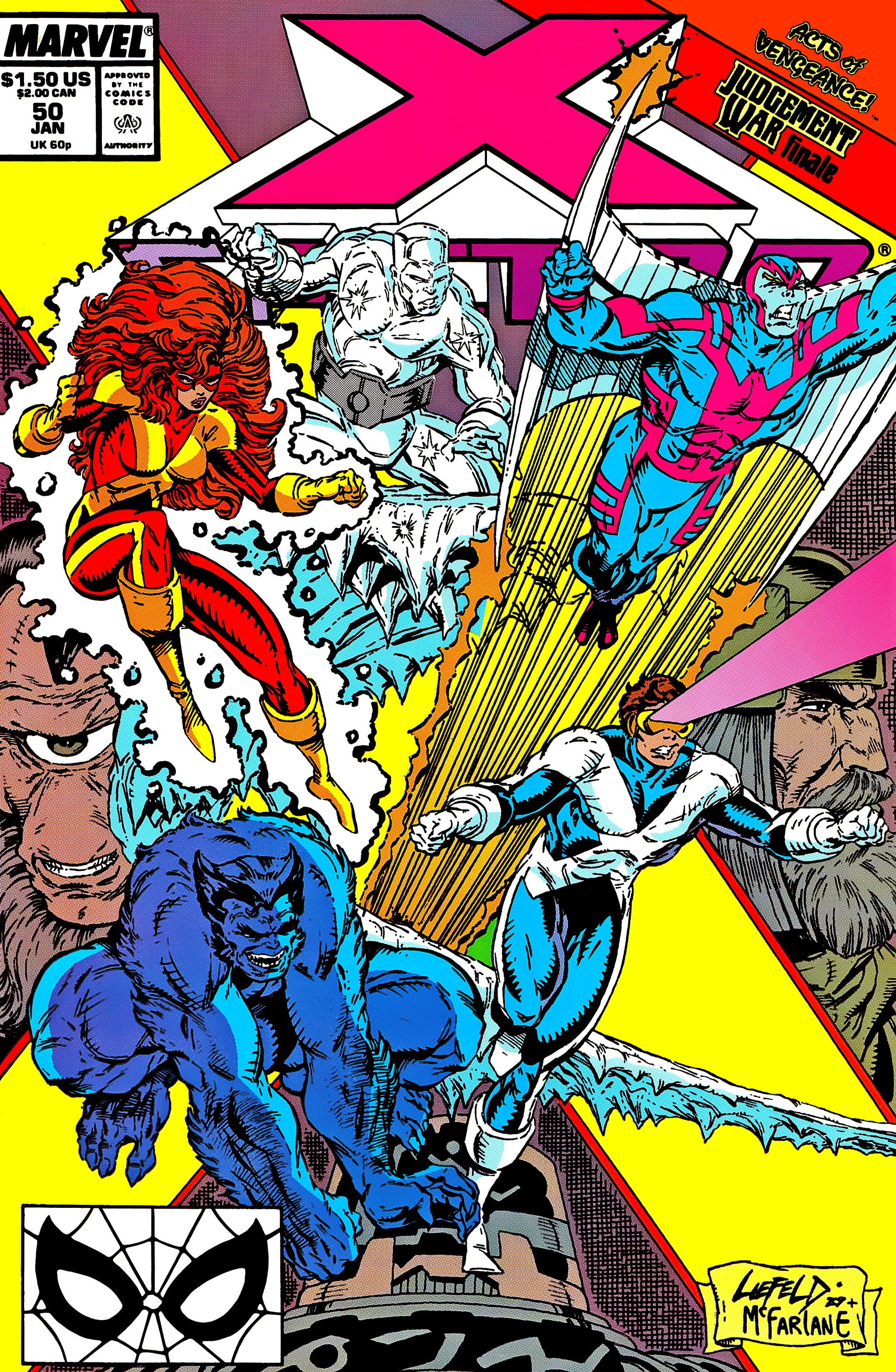 Read online X-Factor (1986) comic -  Issue #50 - 1