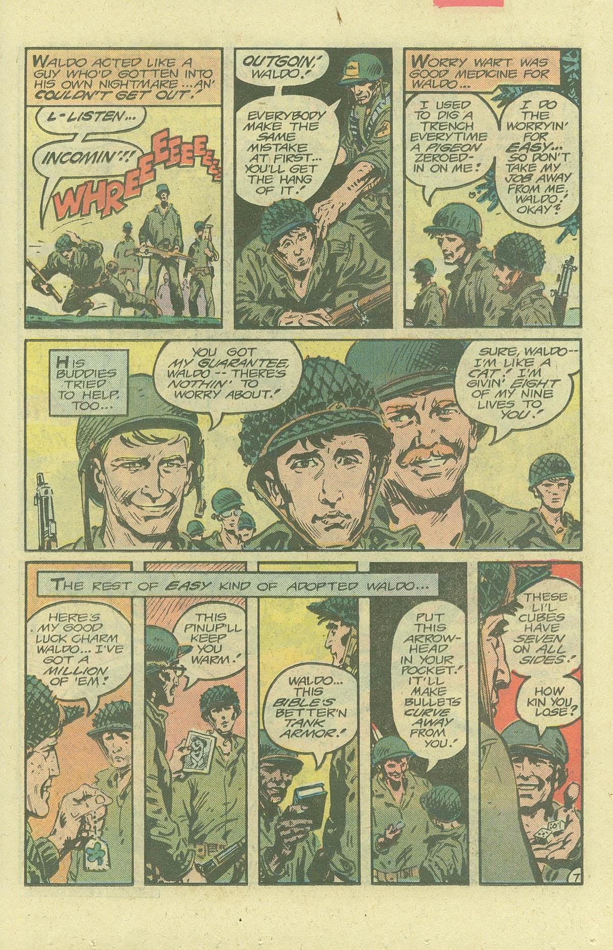 Read online Sgt. Rock comic -  Issue #380 - 10