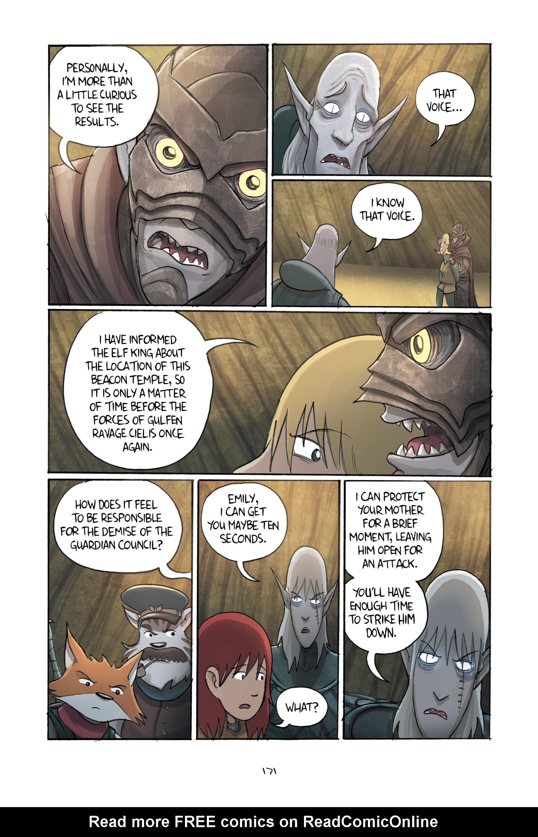 Read online Amulet comic -  Issue #3 - 167