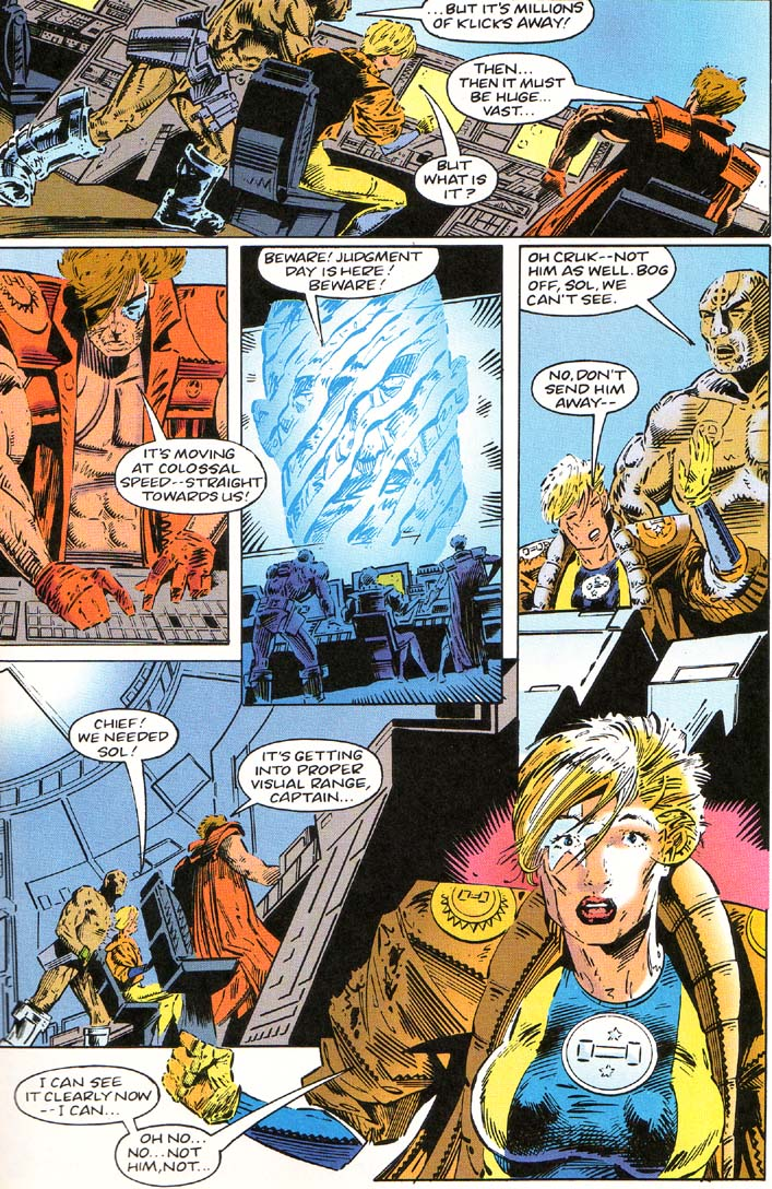 Read online Cyberspace 3000 comic -  Issue #1 - 23
