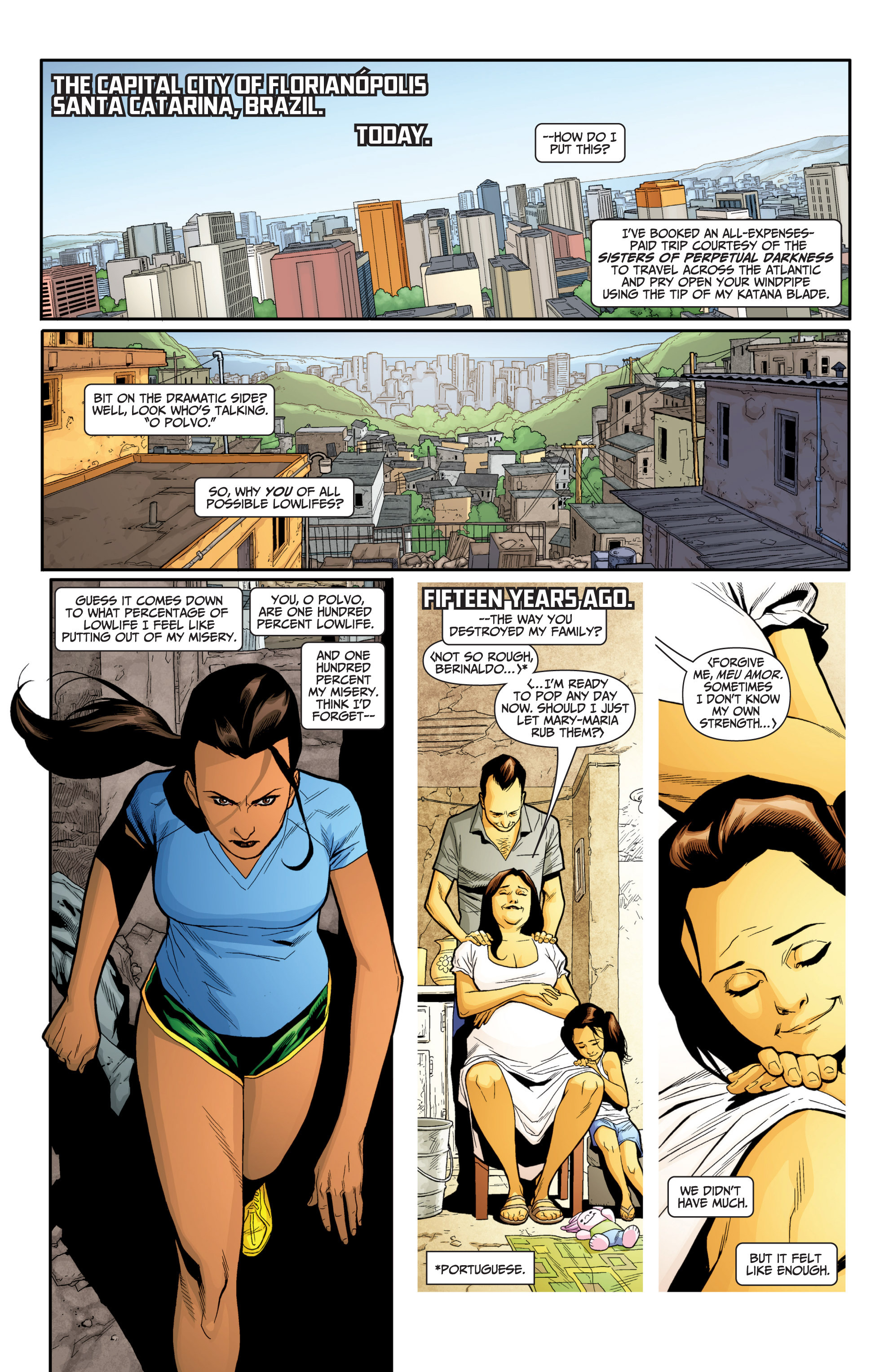 Read online Archer and Armstrong comic -  Issue #Archer and Armstrong _TPB 7 - 10