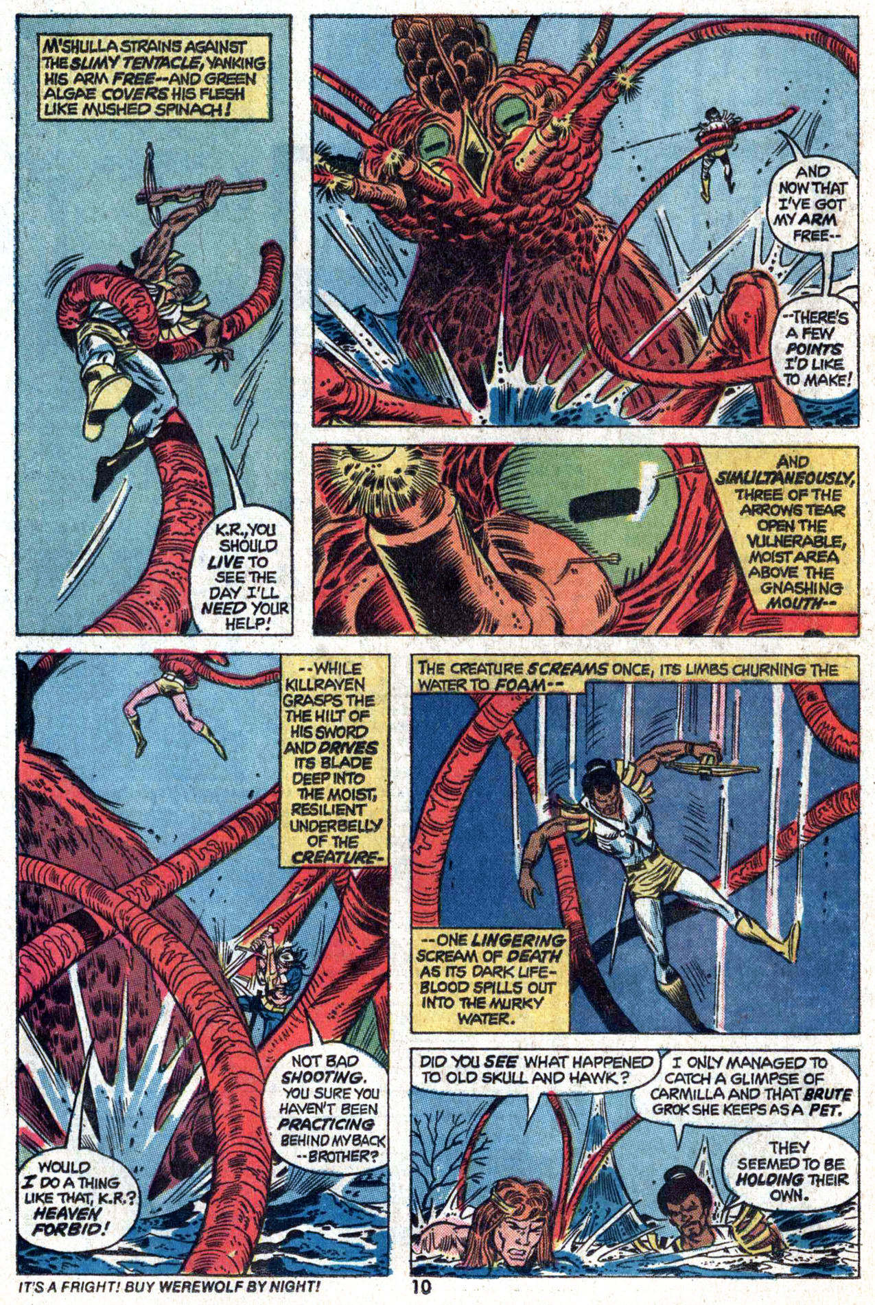 Read online Amazing Adventures (1970) comic -  Issue #22 - 10