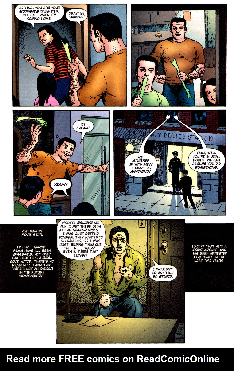 Read online Caper comic -  Issue #5 - 9