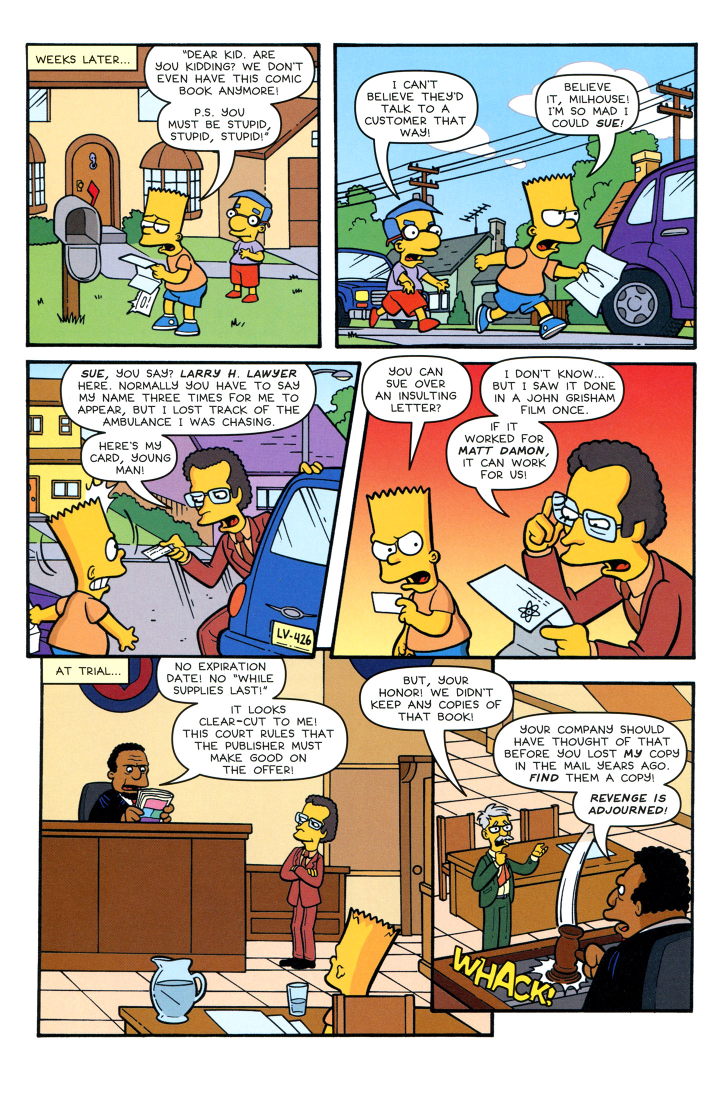 Read online Simpsons Comics Presents Bart Simpson comic -  Issue #77 - 20
