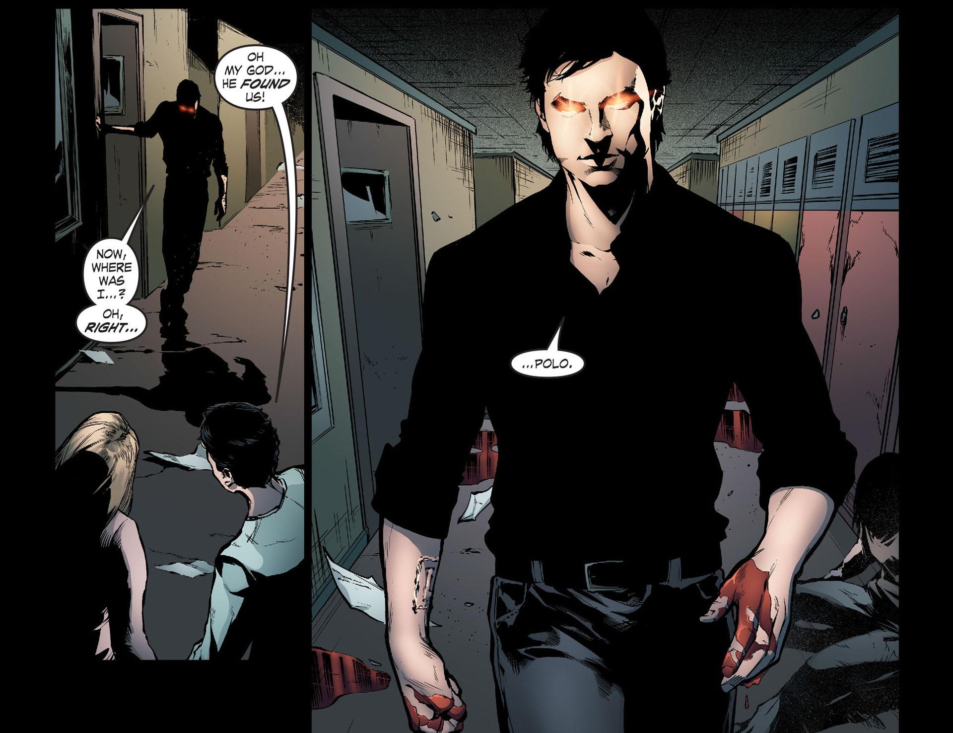 Read online Smallville: Season 11 comic -  Issue #33 - 12