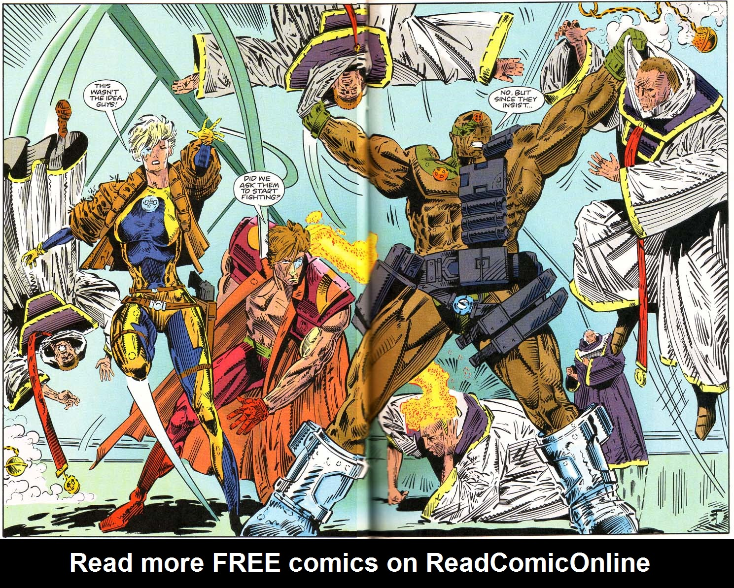 Read online Cyberspace 3000 comic -  Issue #1 - 17
