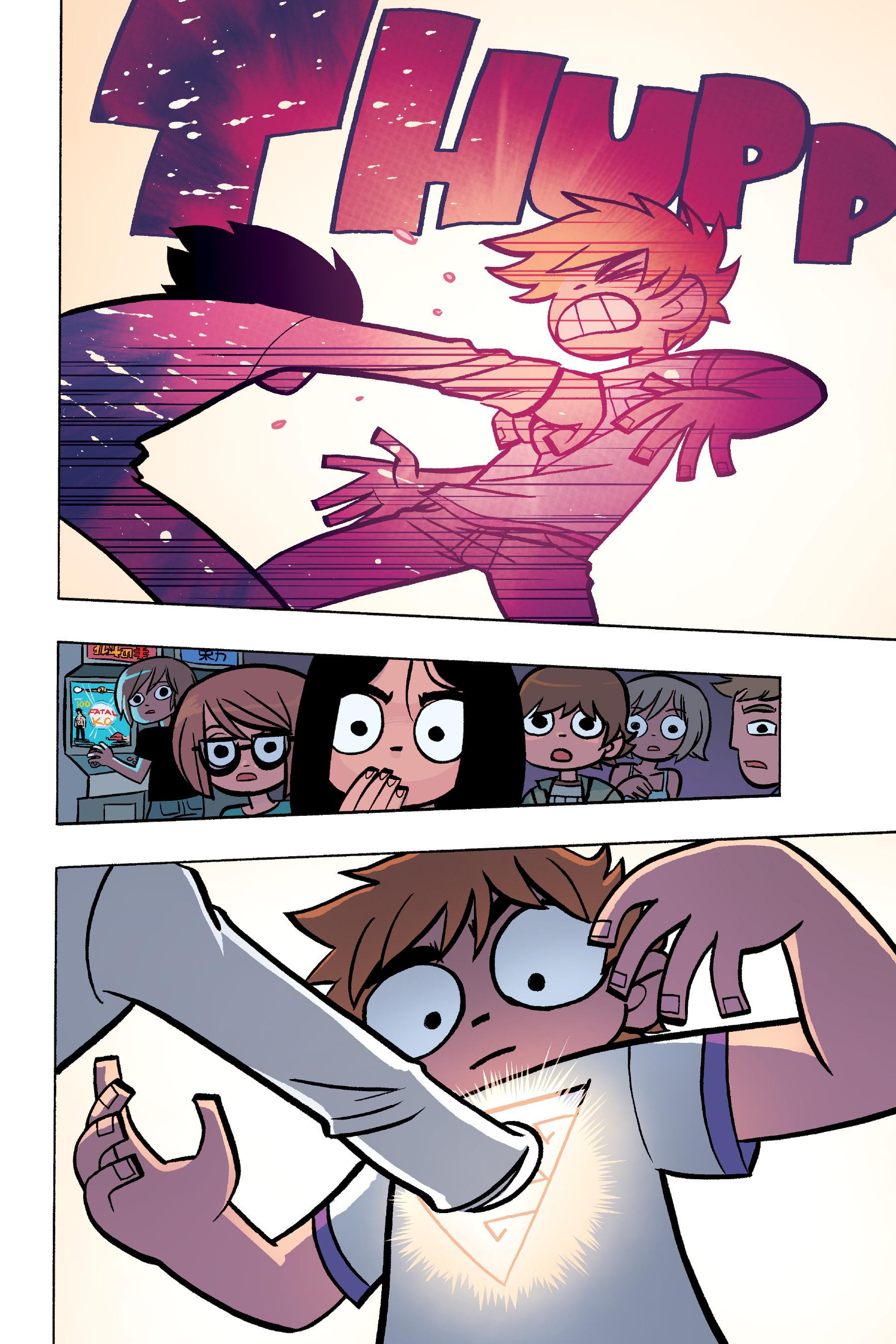 Read online Scott Pilgrim comic -  Issue #6 - 121