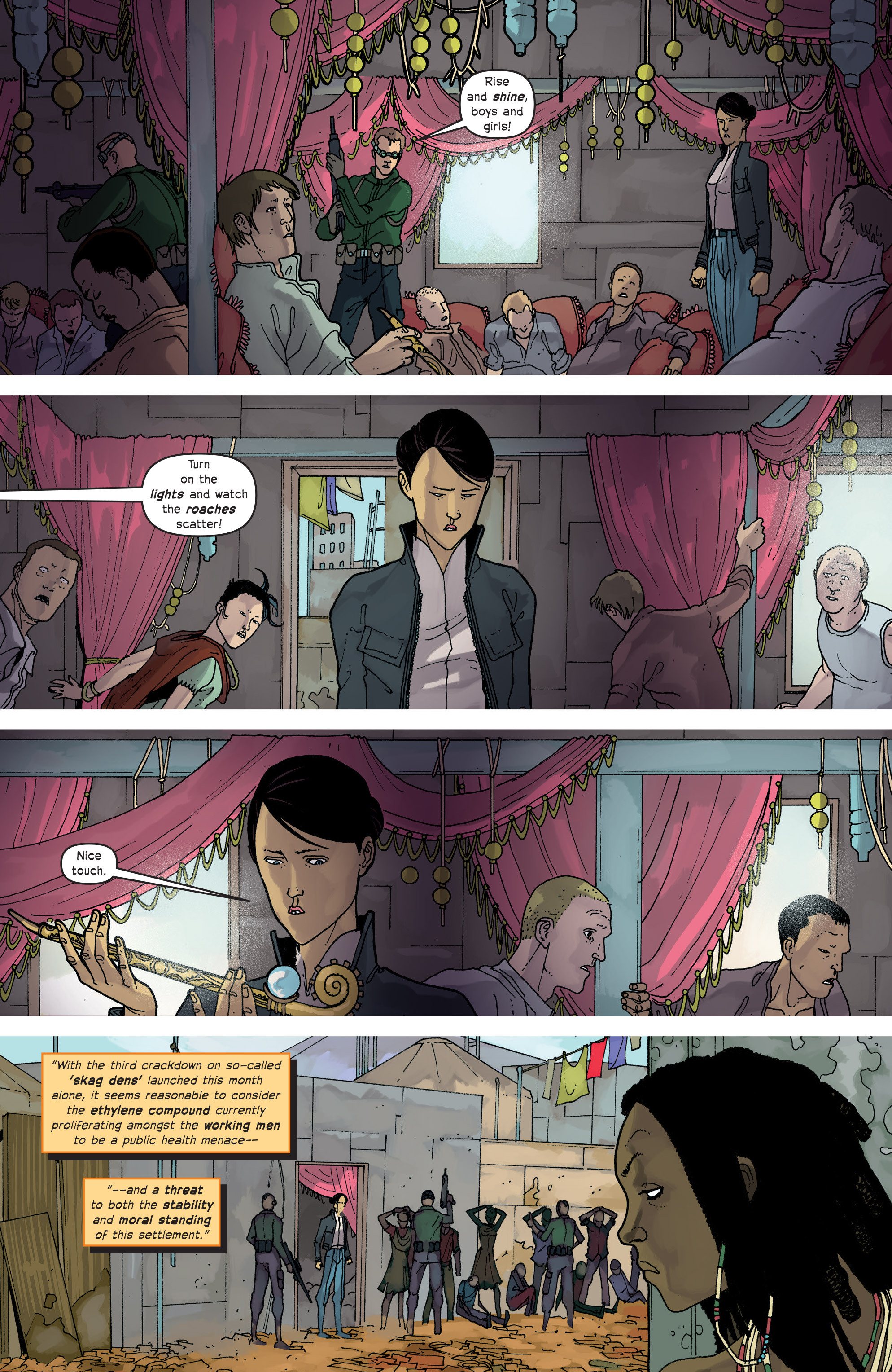 Read online Great Pacific comic -  Issue #14 - 6