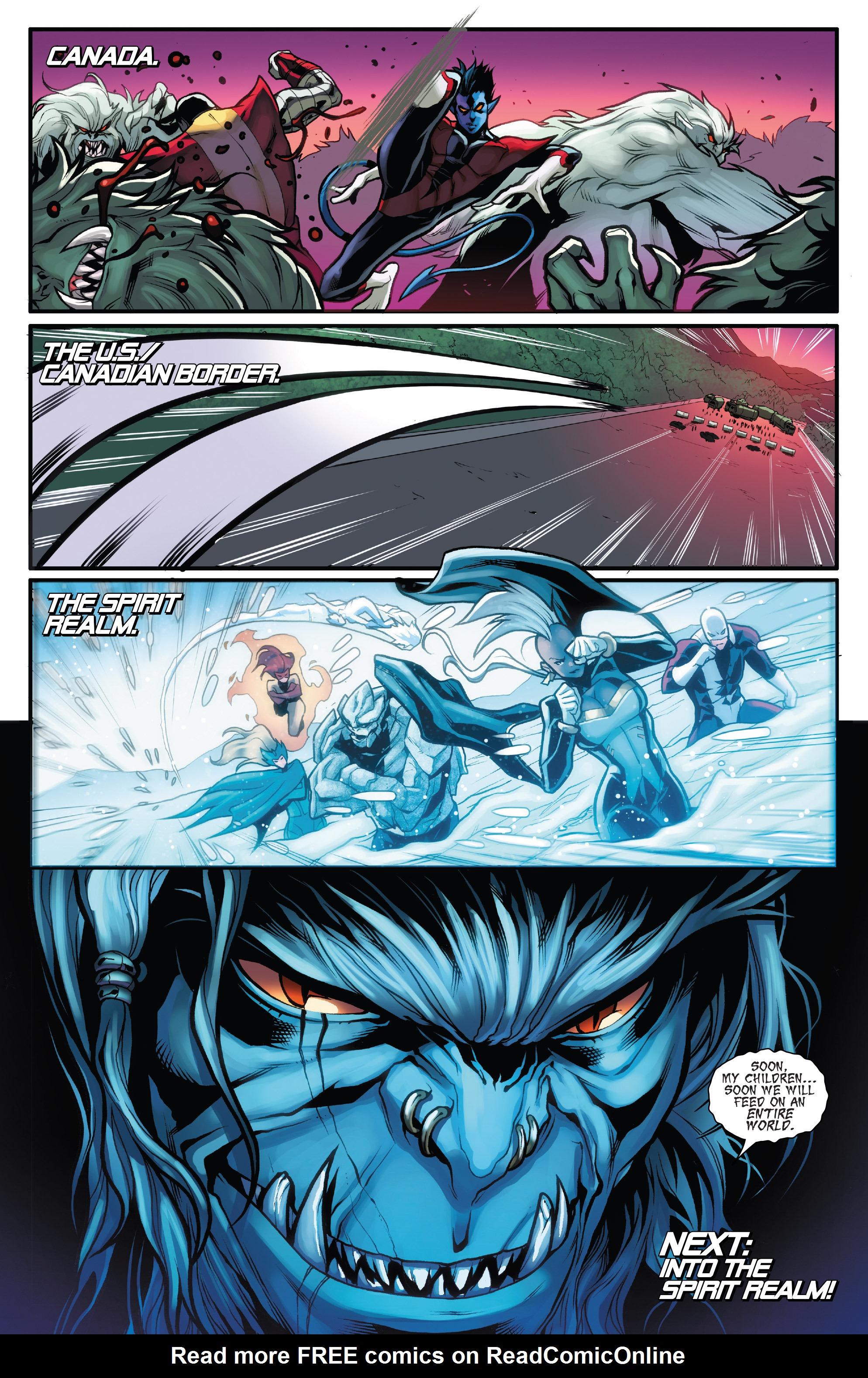 Read online Amazing X-Men (2014) comic -  Issue #10 - 22