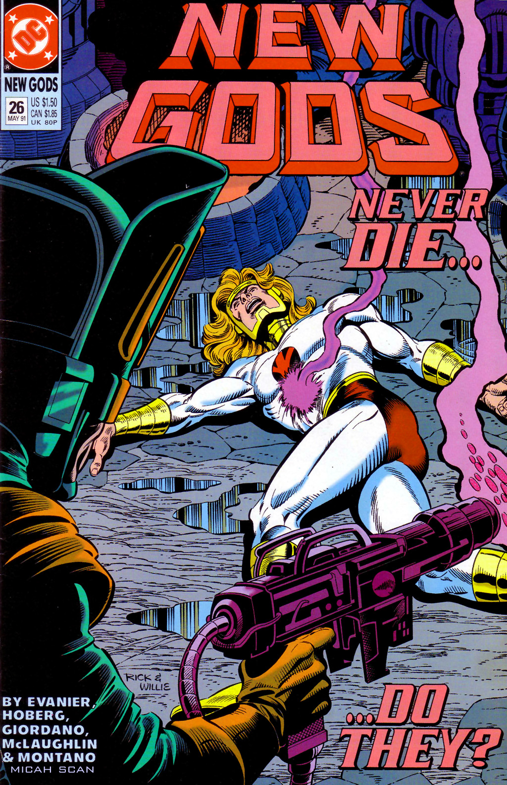 The New Gods (1989) 26 Page 1