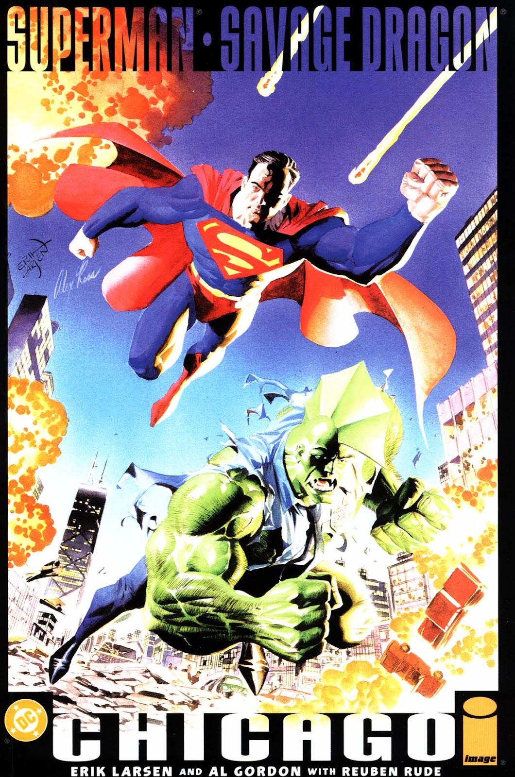 Superman & Savage Dragon: Chicago Full Page 1