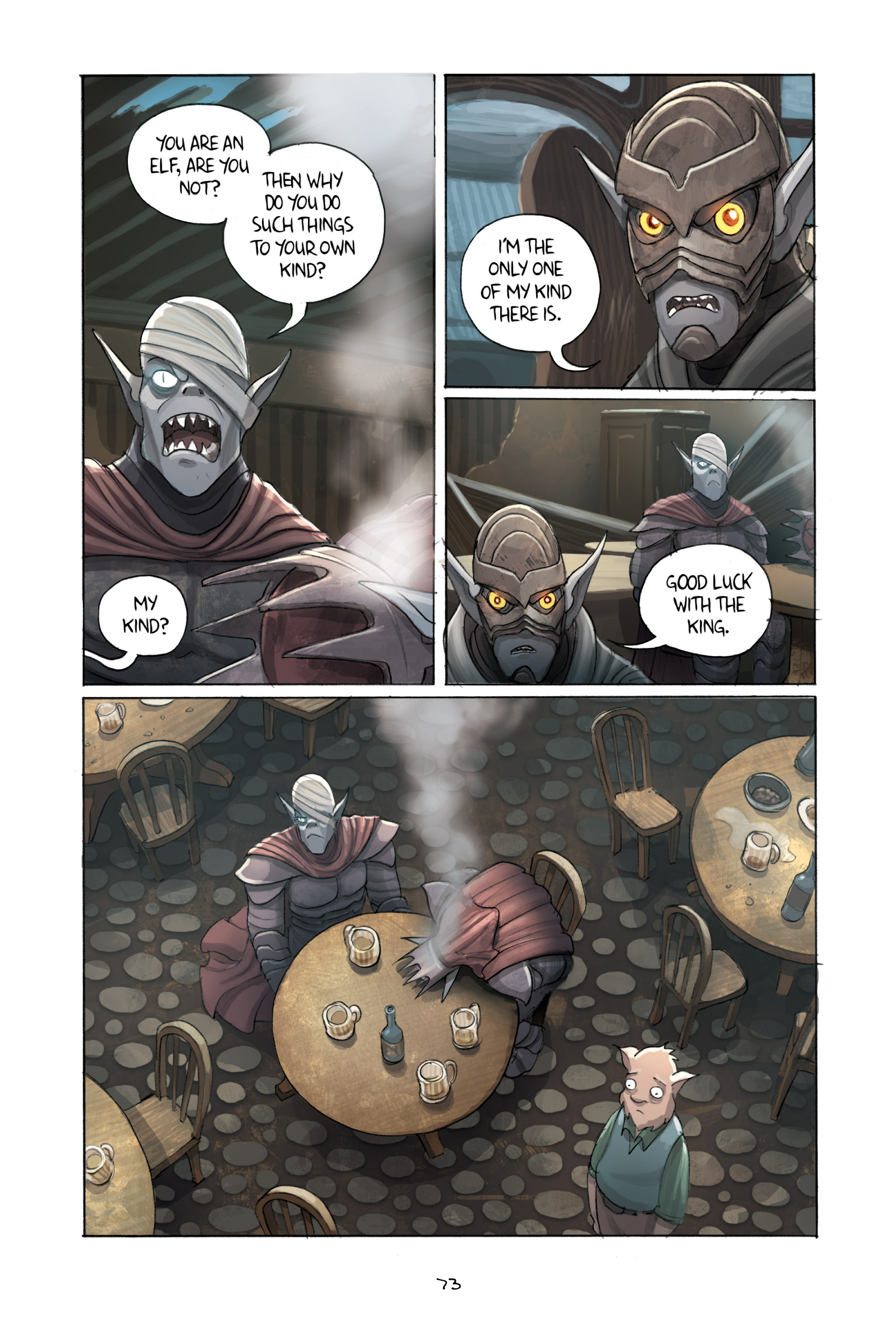 Read online Amulet comic -  Issue #3 - 71
