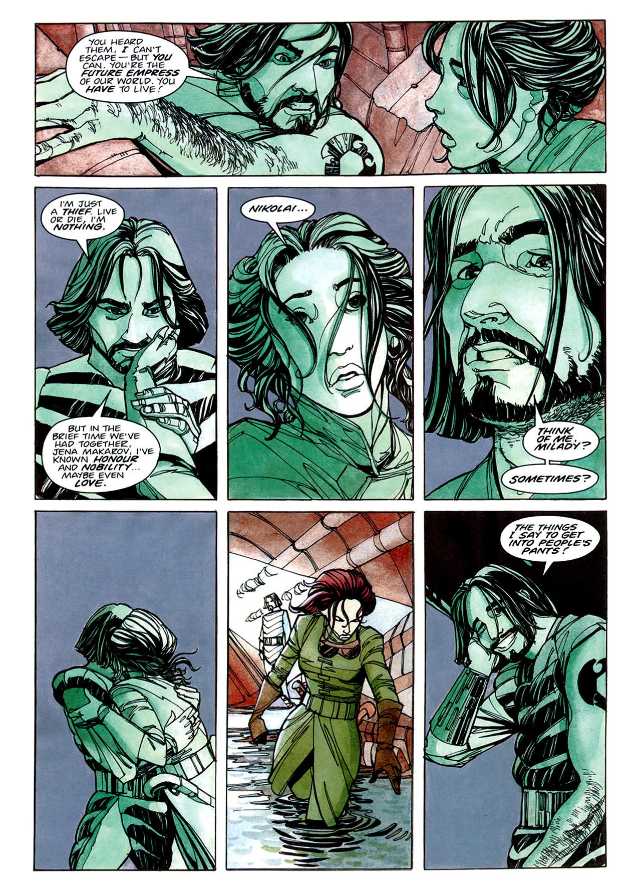 Read online Nikolai Dante comic -  Issue # TPB 1 - 37