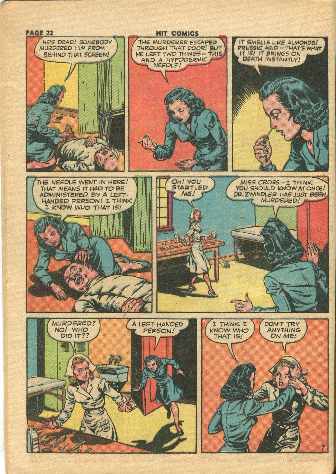 Read online Hit Comics comic -  Issue #28 - 25