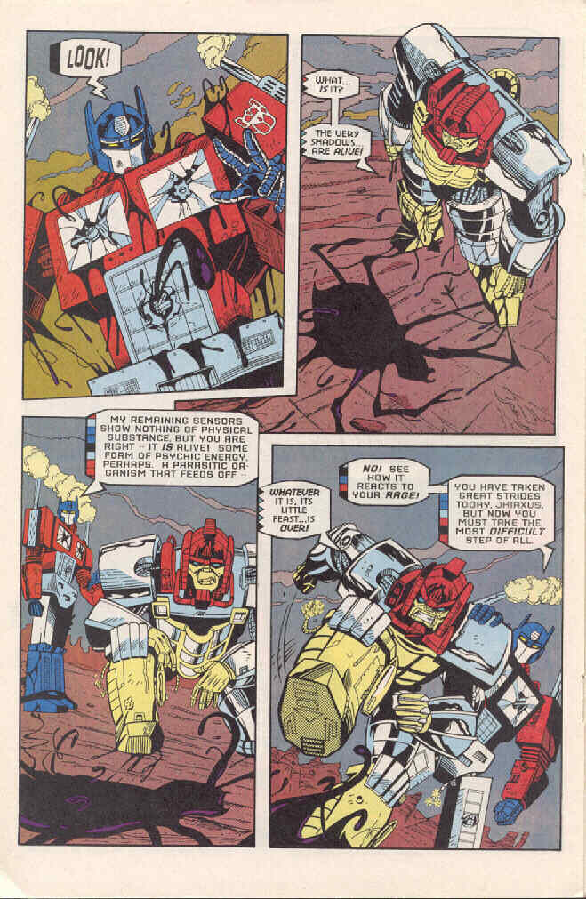 Read online Transformers: Generation 2 comic -  Issue #3 - 16