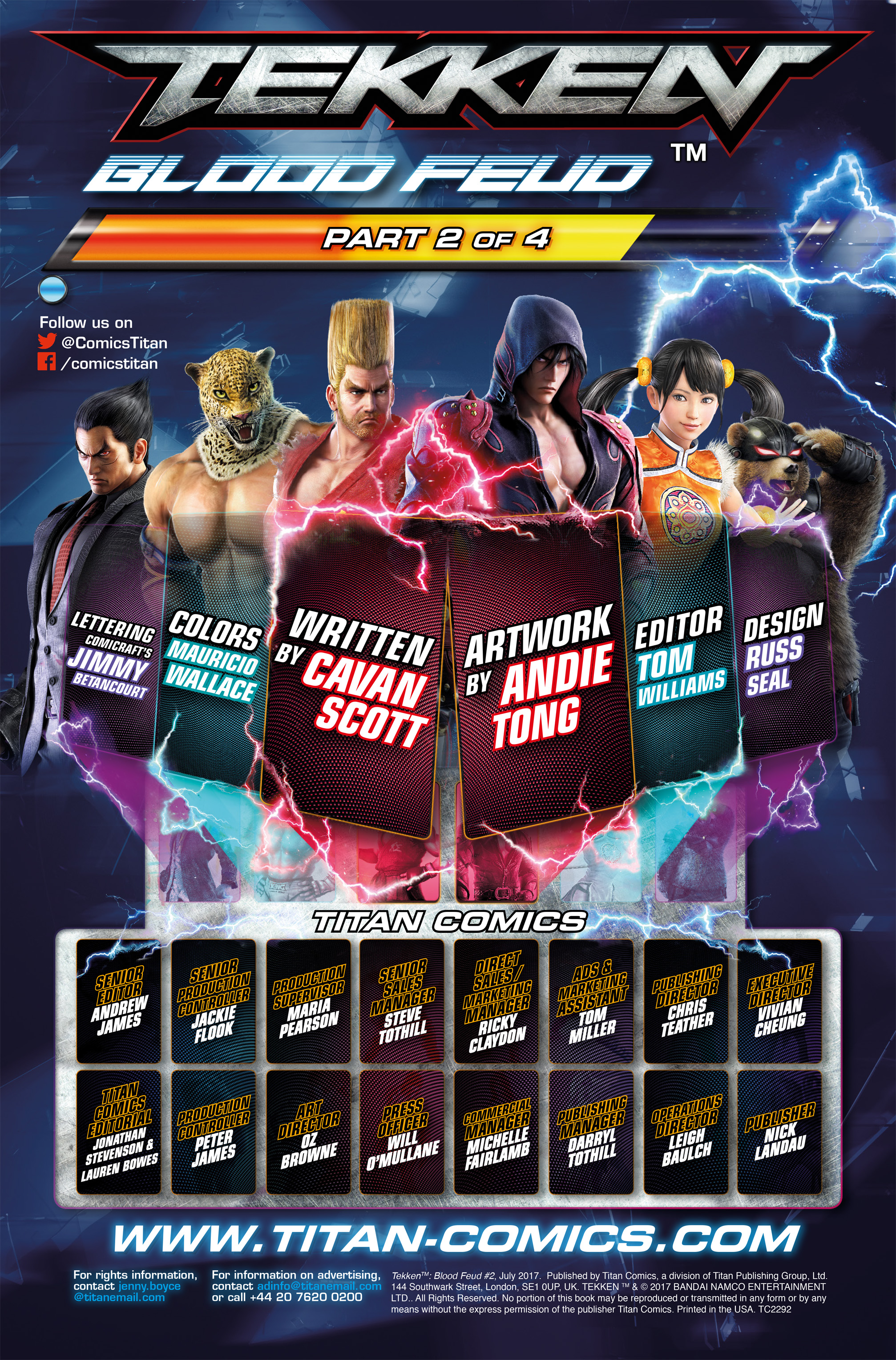 Read online Tekken comic -  Issue #2 - 6