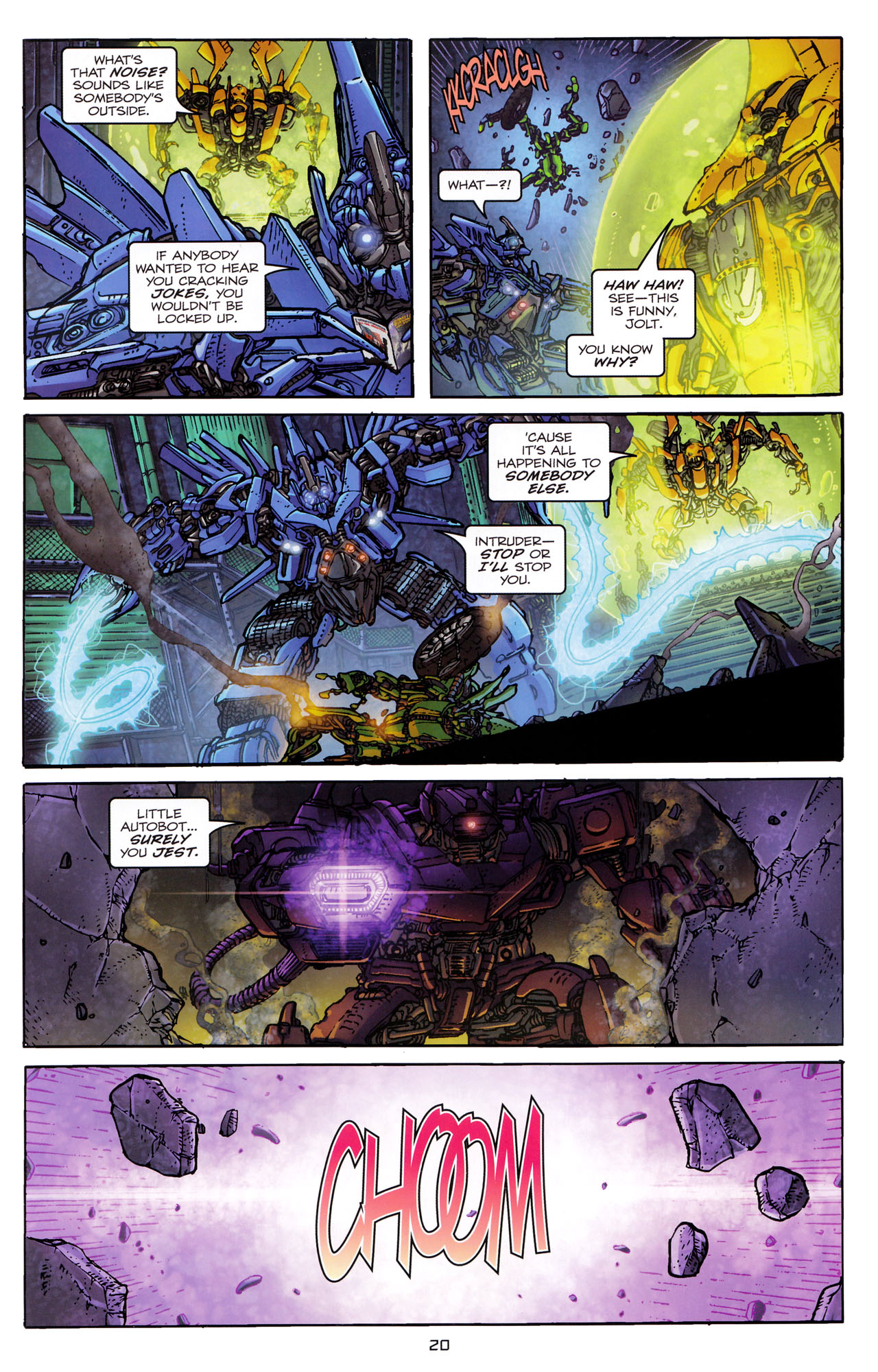 Read online Transformers: Dark of the Moon Rising Storm comic -  Issue #3 - 21