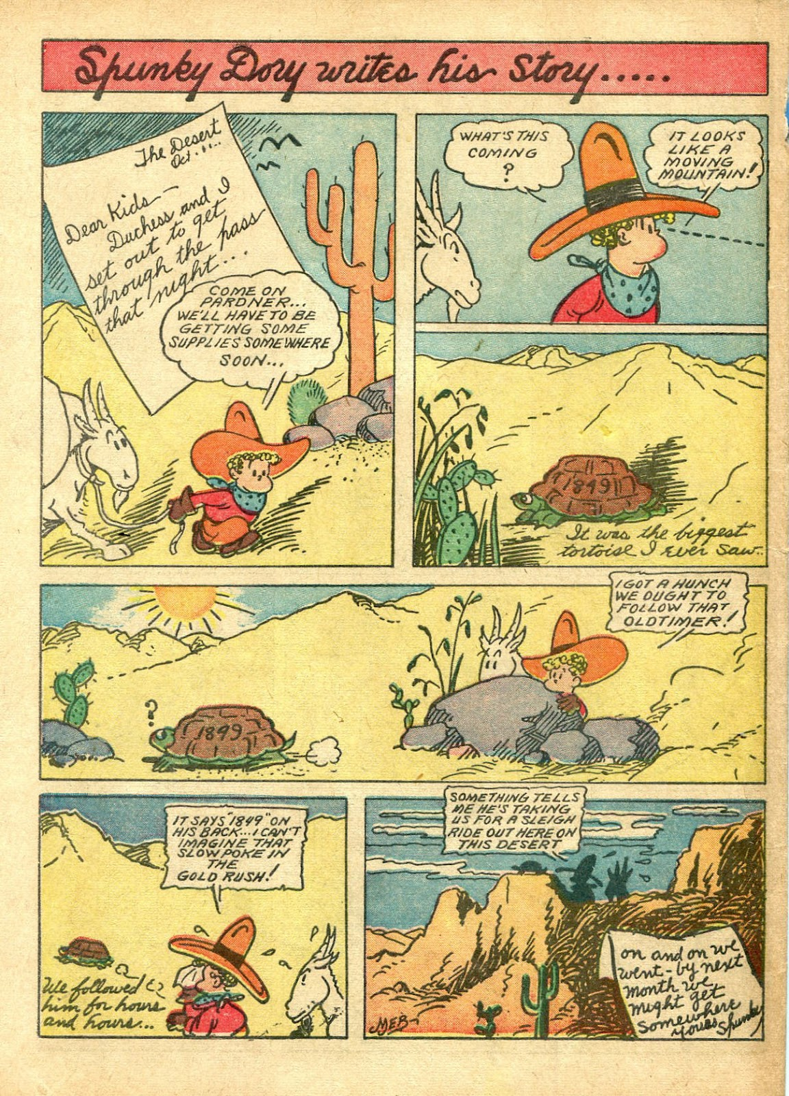 Read online Famous Funnies comic -  Issue #63 - 65