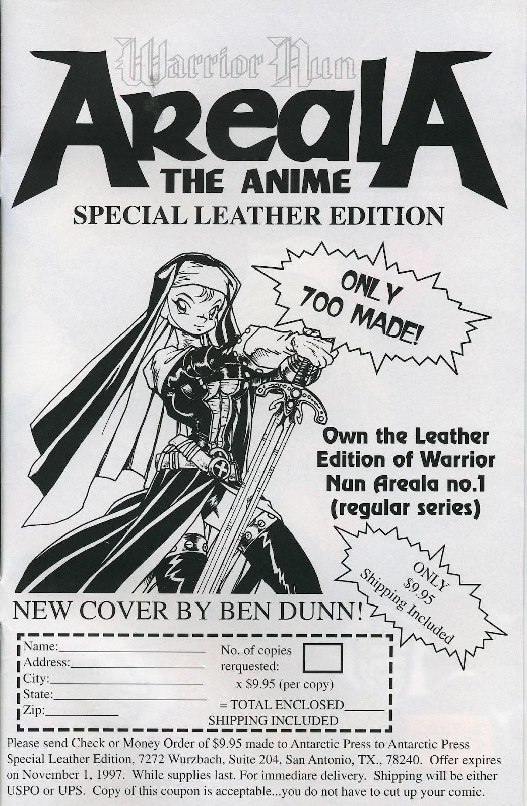 Warrior Nun Areala (1997) Issue #3 #3 - English 27