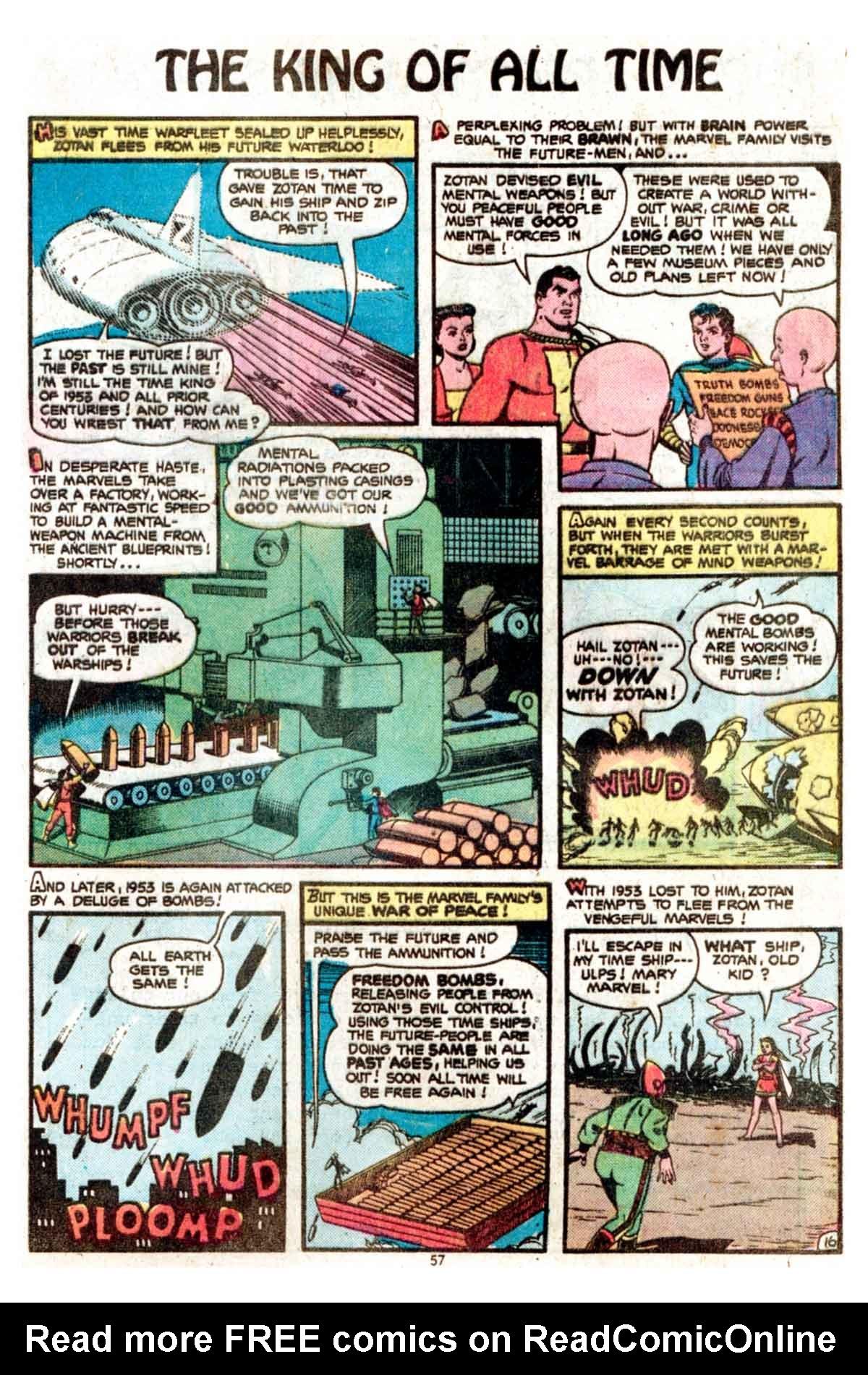Read online Shazam! (1973) comic -  Issue #15 - 57