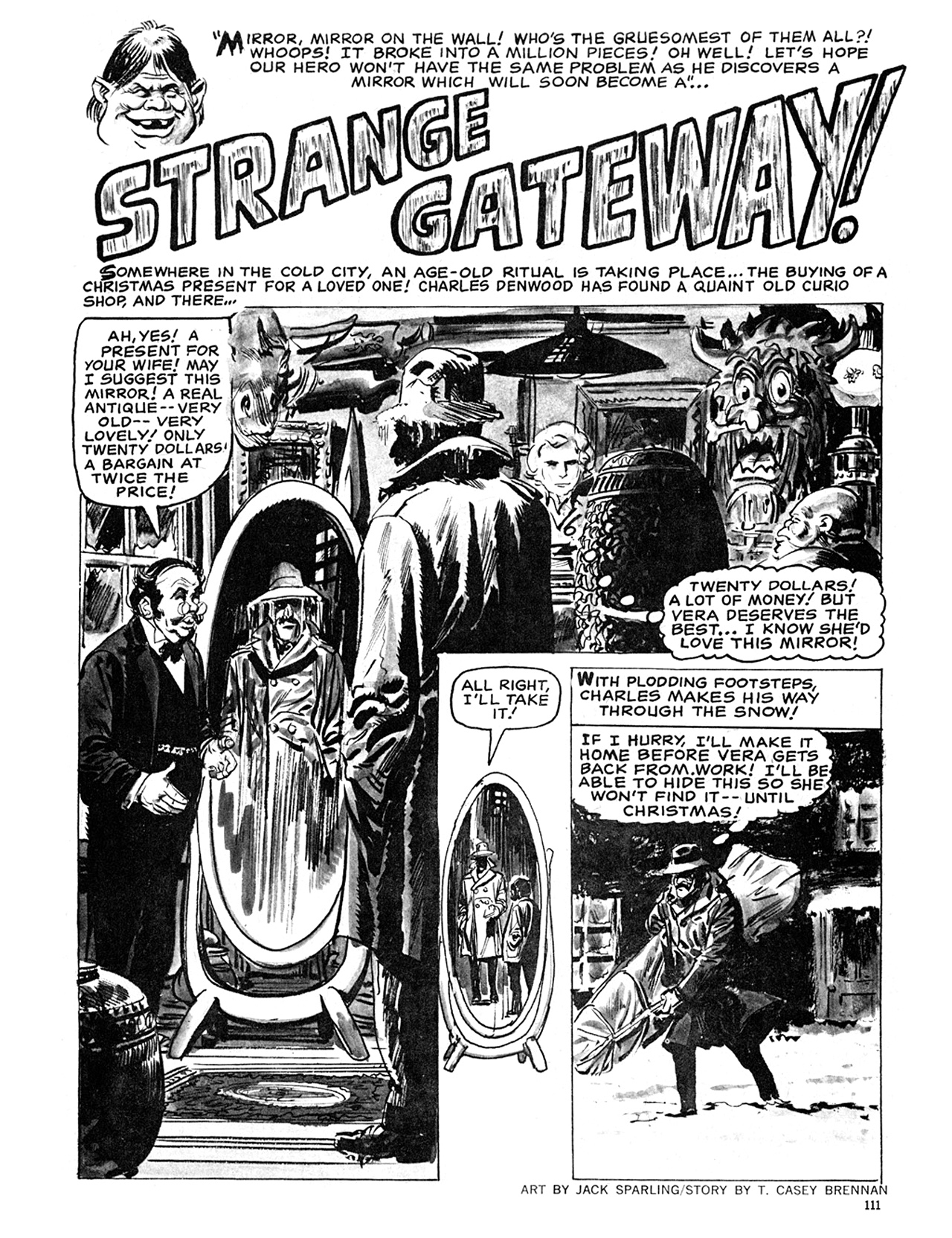 Read online Eerie Archives comic -  Issue # TPB 6 - 111